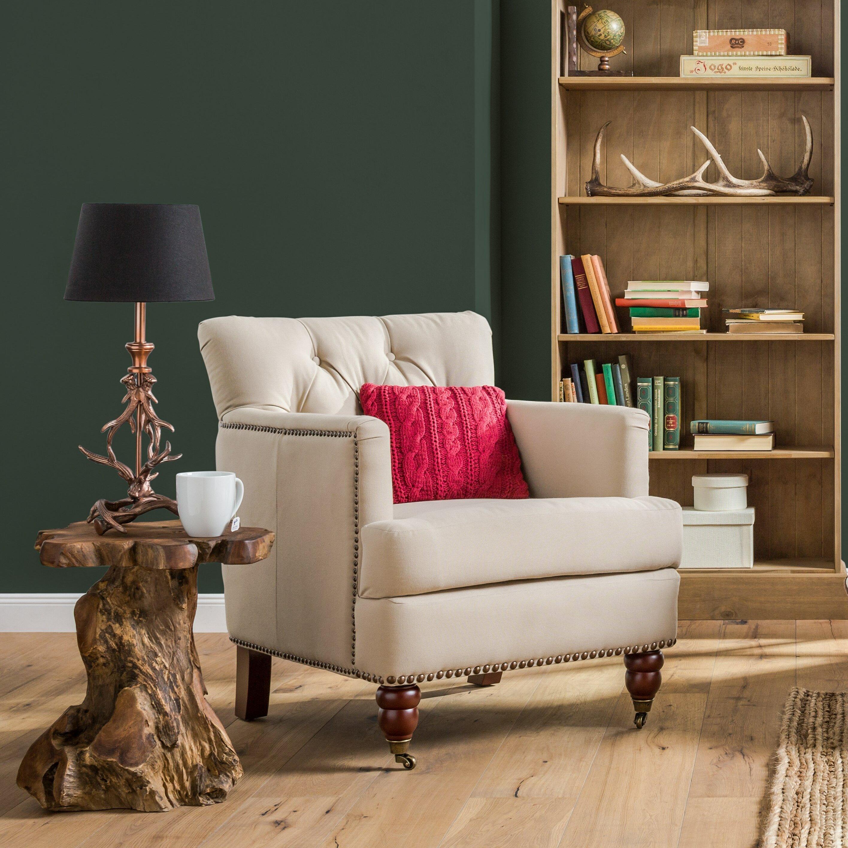 wayfair basics 25 7 cm trommel lampenschirm aus stoff. Black Bedroom Furniture Sets. Home Design Ideas
