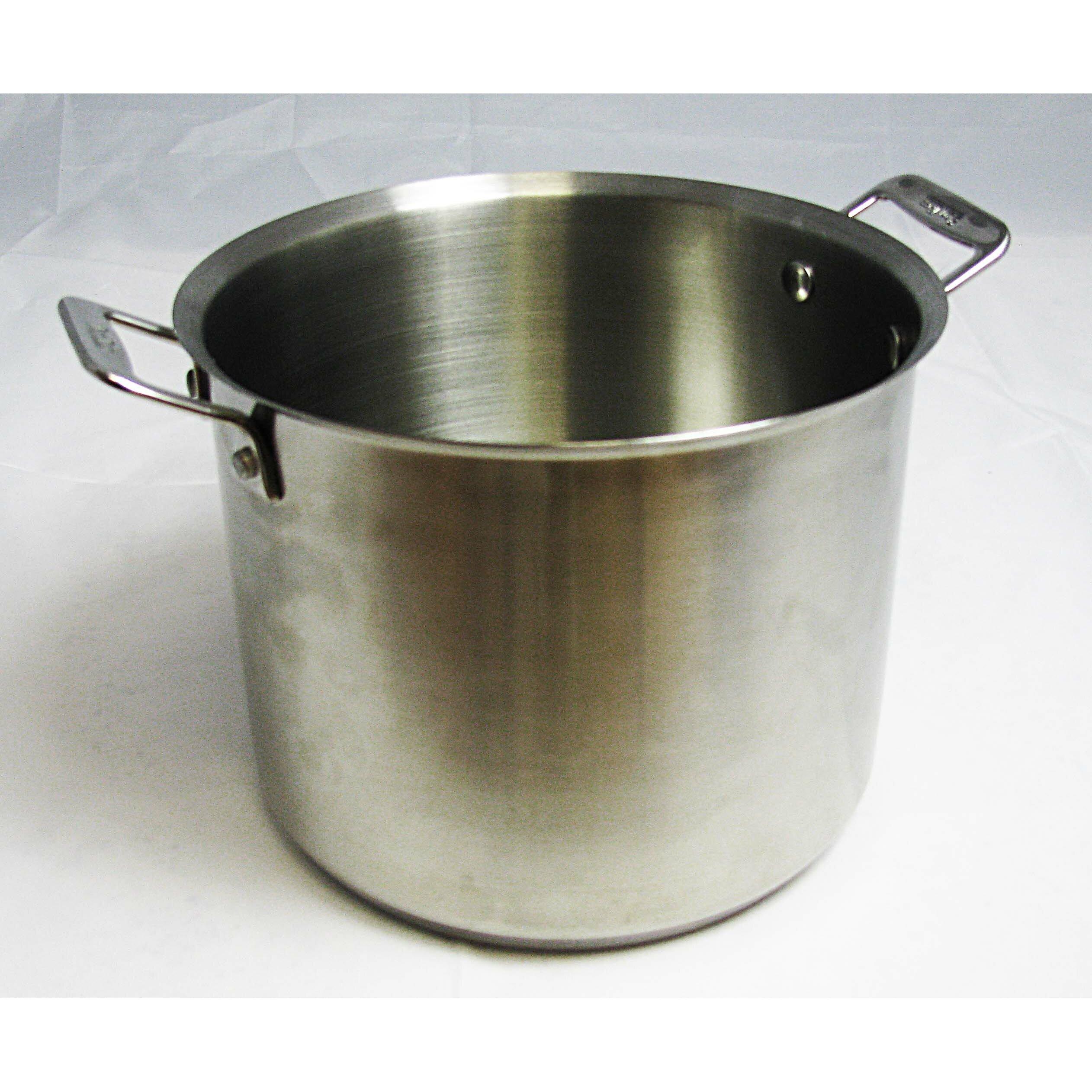 bon chef cucina 7 qt stock pot with lid