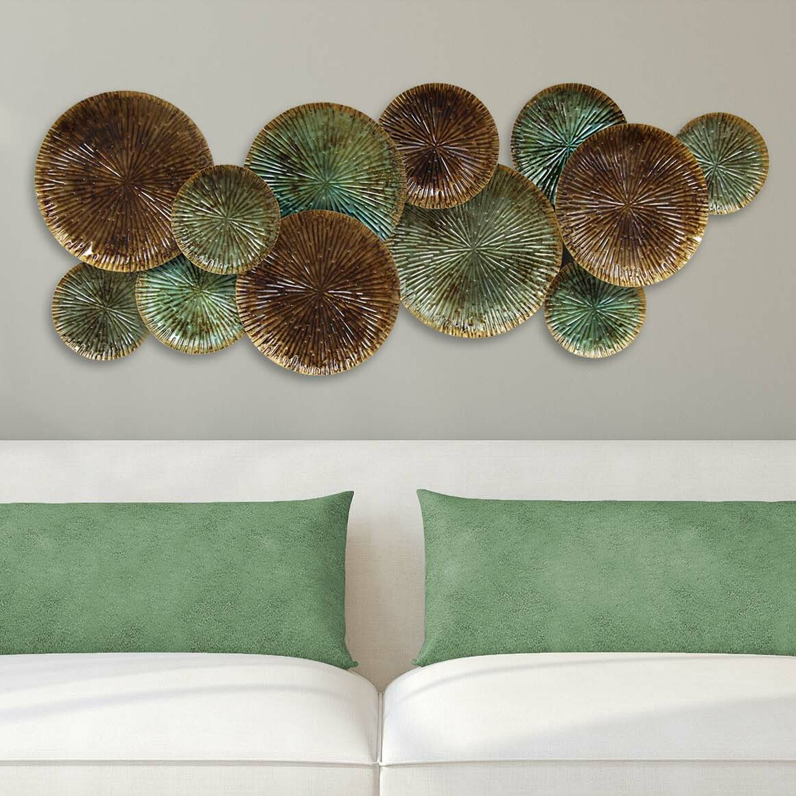 Plates Wall Decor Stratton Home Decor Textured Plates Wall Dccor Reviews Wayfair