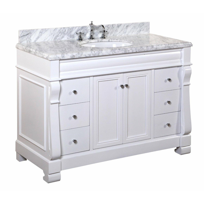 Kitchen Bath Collection Westminster 48 amp quot  Single Bathroom Vanity Set. KBC Westminster 48 quot  Single Bathroom Vanity Set  amp  Reviews   Wayfair