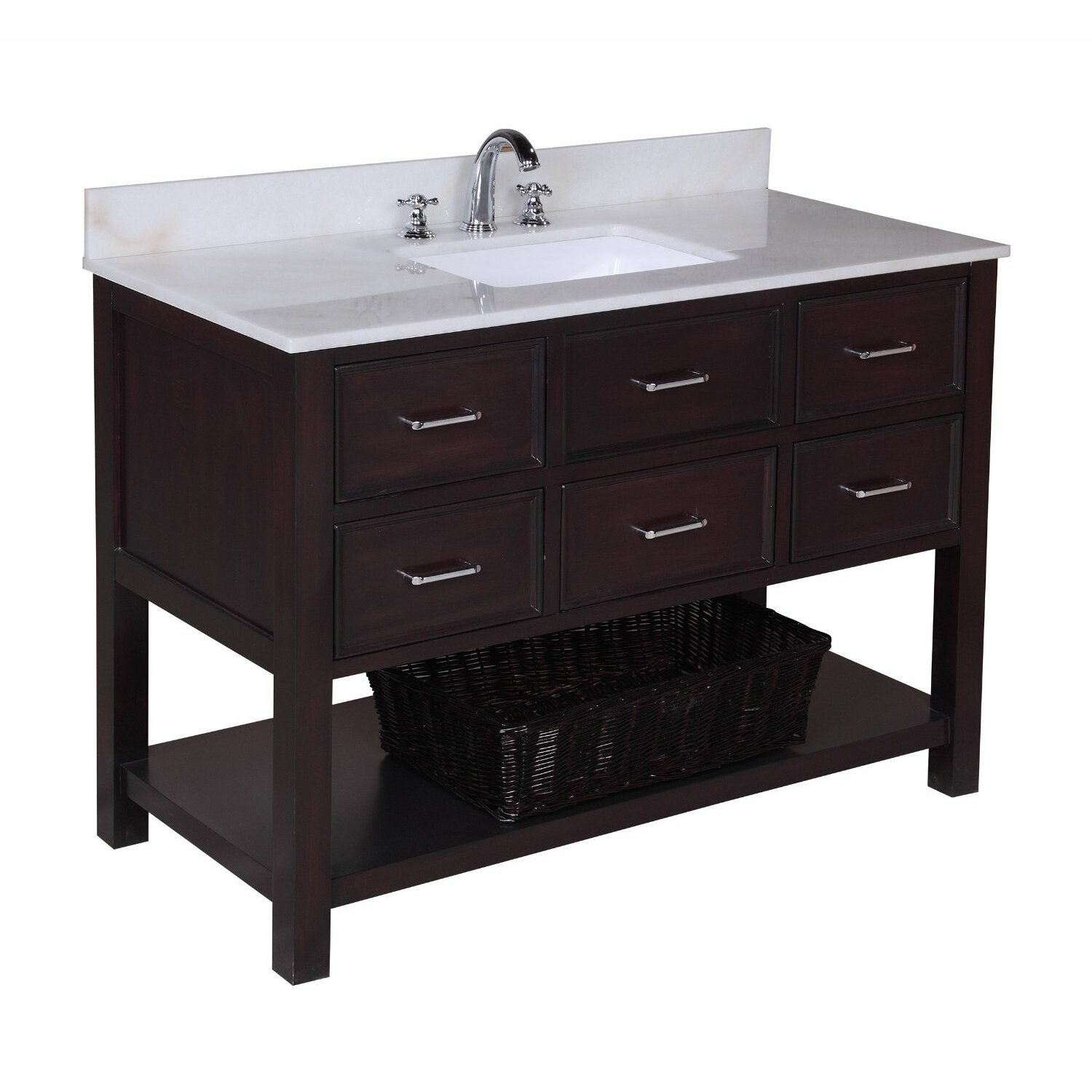 Kitchen Cabinets New Hampshire Kbc New Hampshire 48 Single Bathroom Vanity Set Reviews Wayfair