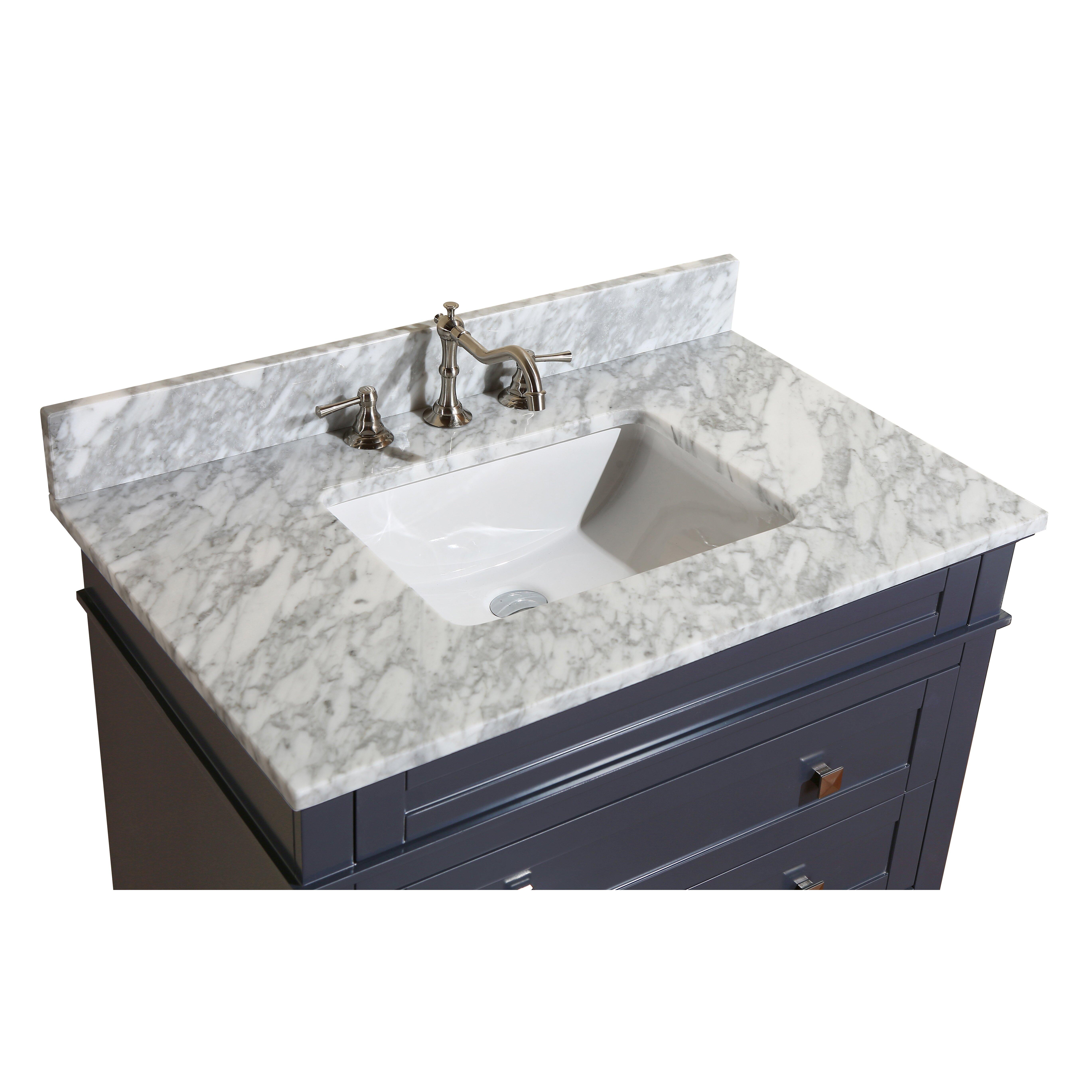 Kitchen Bath Collection Eleanor 36 amp quot  Single Bathroom Vanity Set. KBC Eleanor 36 quot  Single Bathroom Vanity Set  amp  Reviews   Wayfair