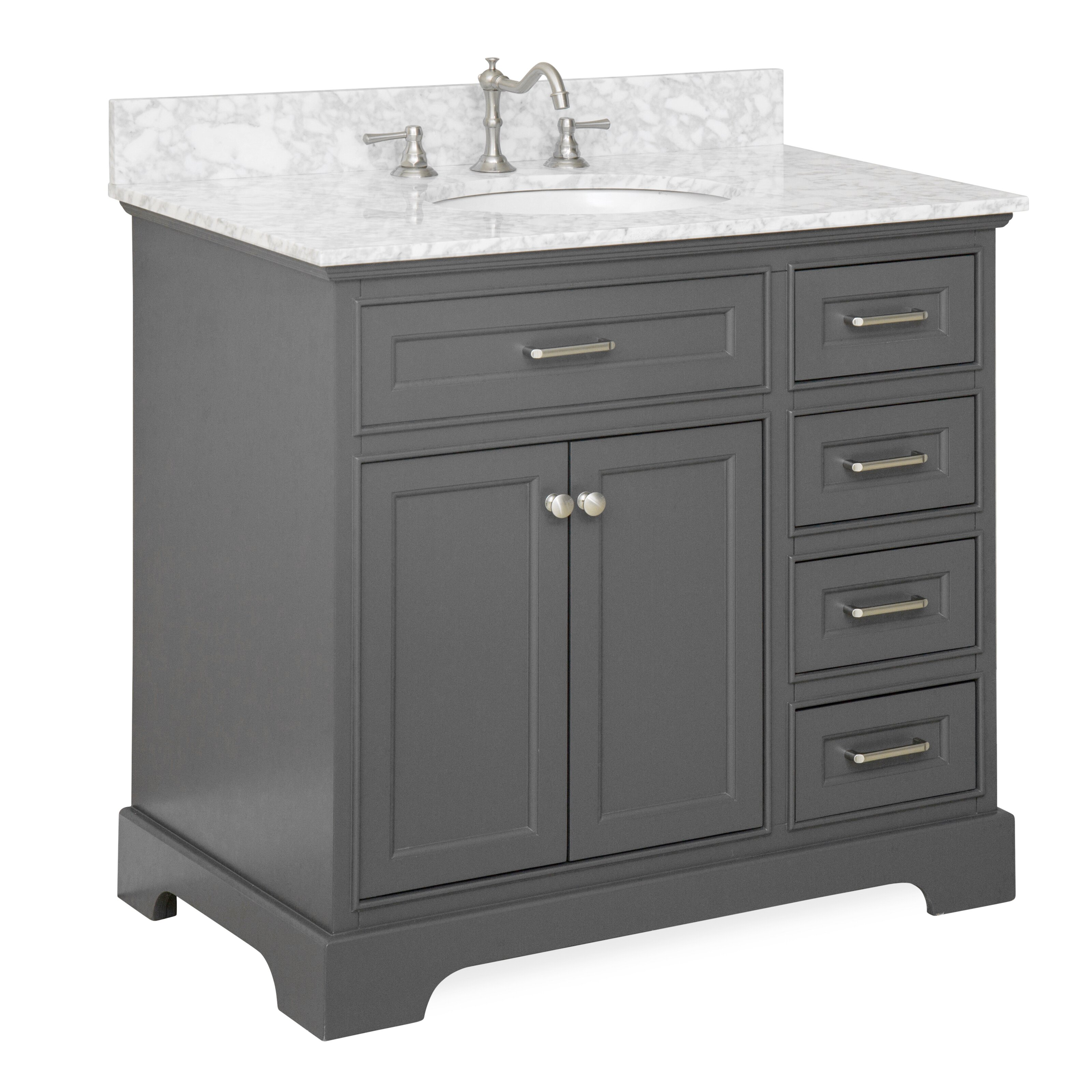 Kbc Aria 36 Single Vanity Set Reviews Wayfair