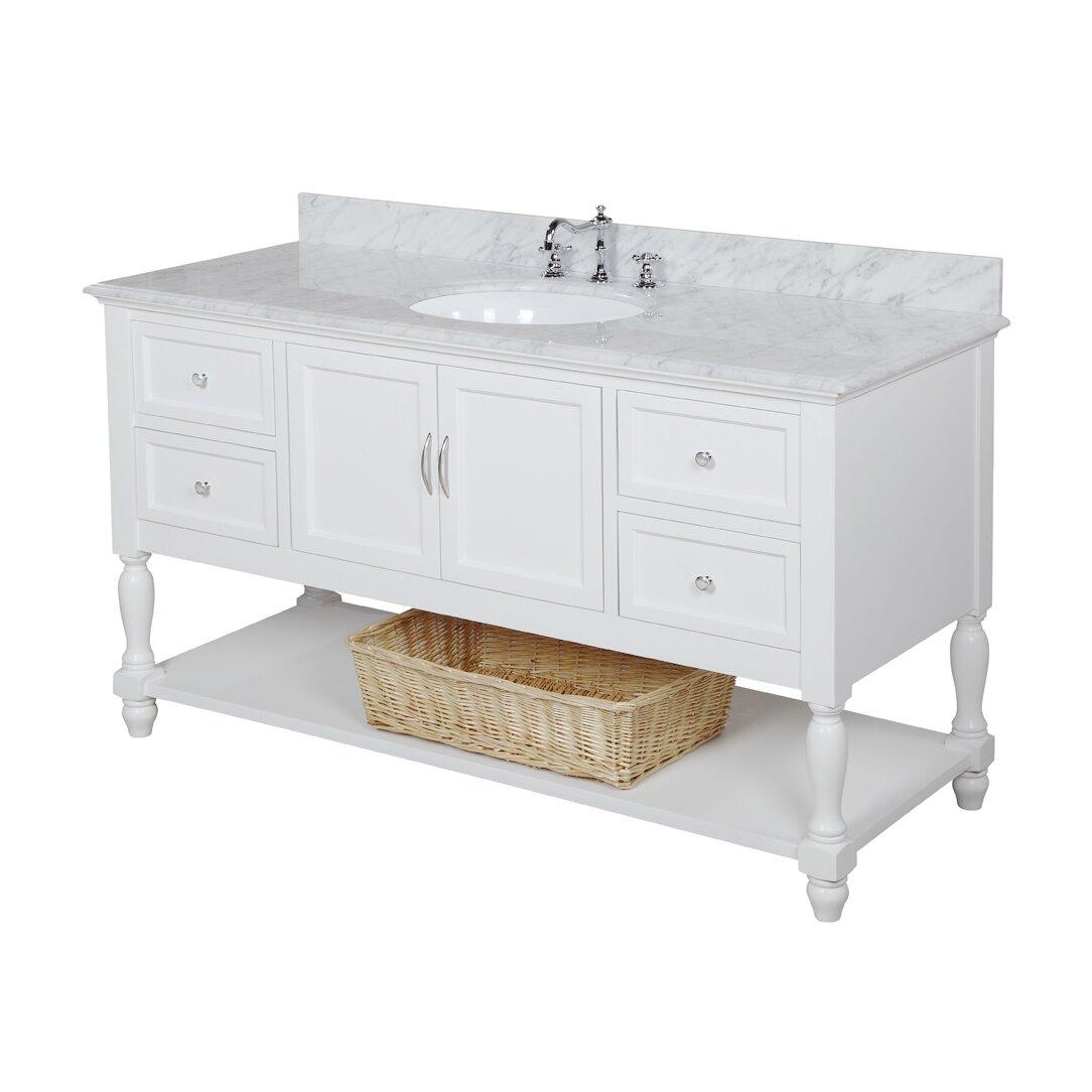 Bathroom Vanity Set Kbc Beverly 60 Single Bathroom Vanity Set Reviews Wayfair