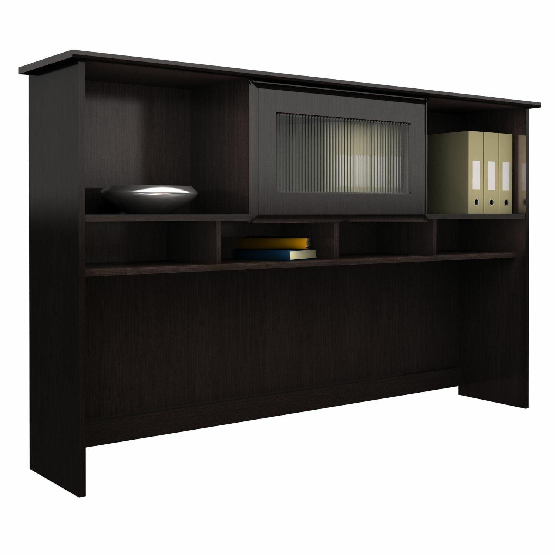 red barrel studio hillsdale l shape computer desk with hutch reviews wayfair. Black Bedroom Furniture Sets. Home Design Ideas