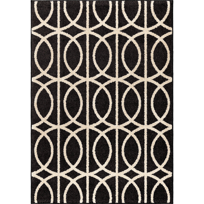 cream and black area rug  roselawnlutheran - red barrel studioureg falmer blackcream area rug