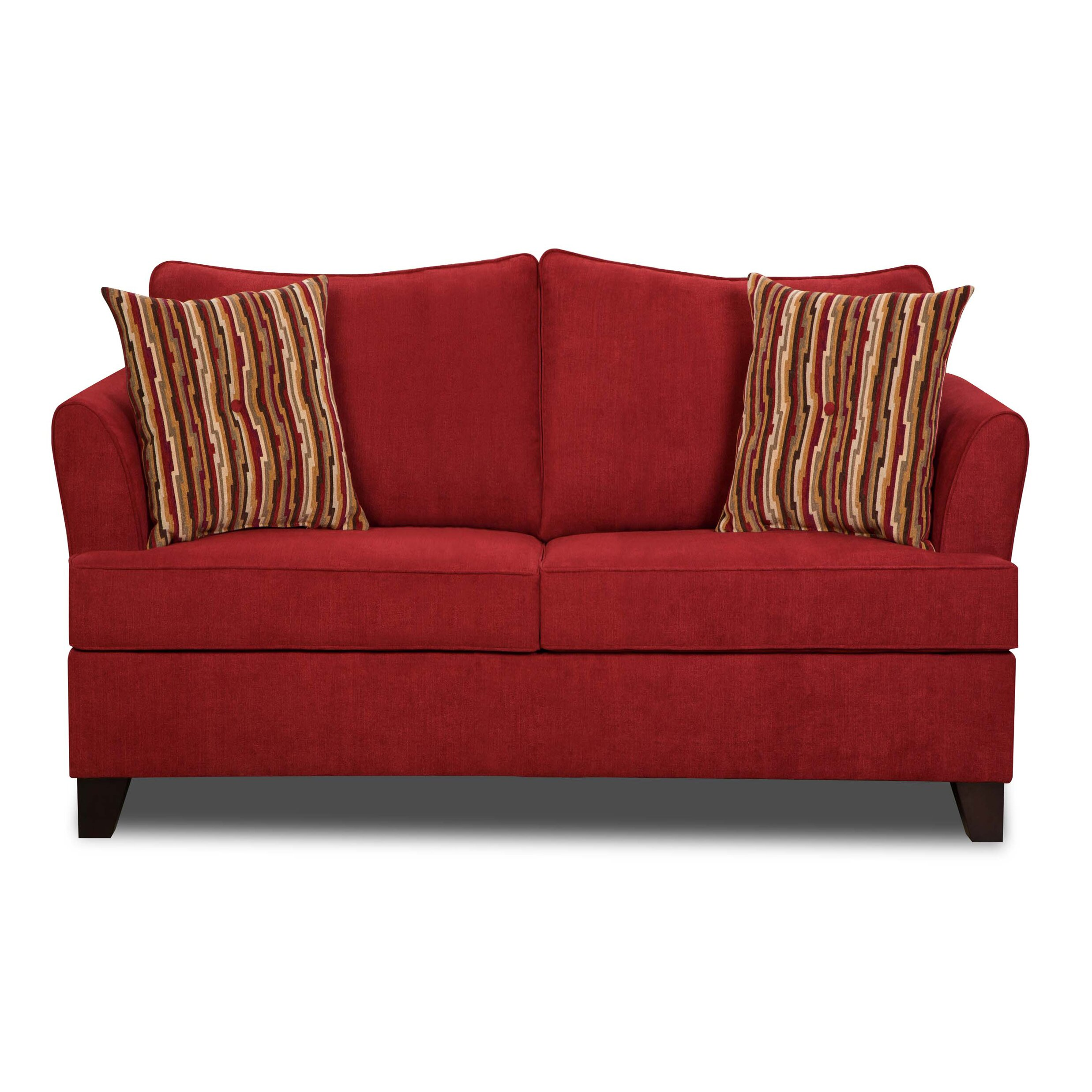 Simmons Sleeper Sofa: Red Barrel Studio Simmons Upholstery Antin Loveseat