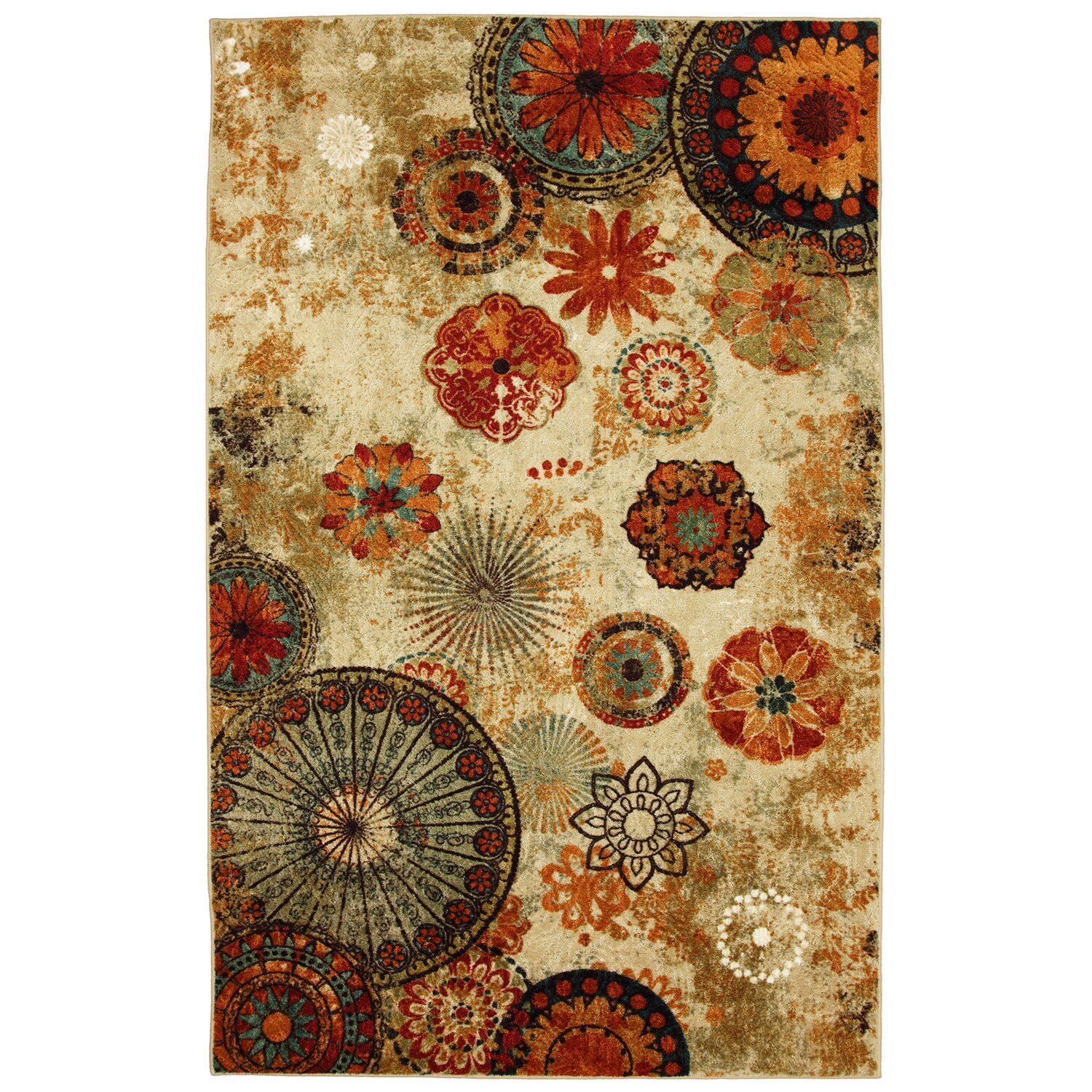 Red Barrel Studio Akron Beige Area Rug Amp Reviews Wayfair