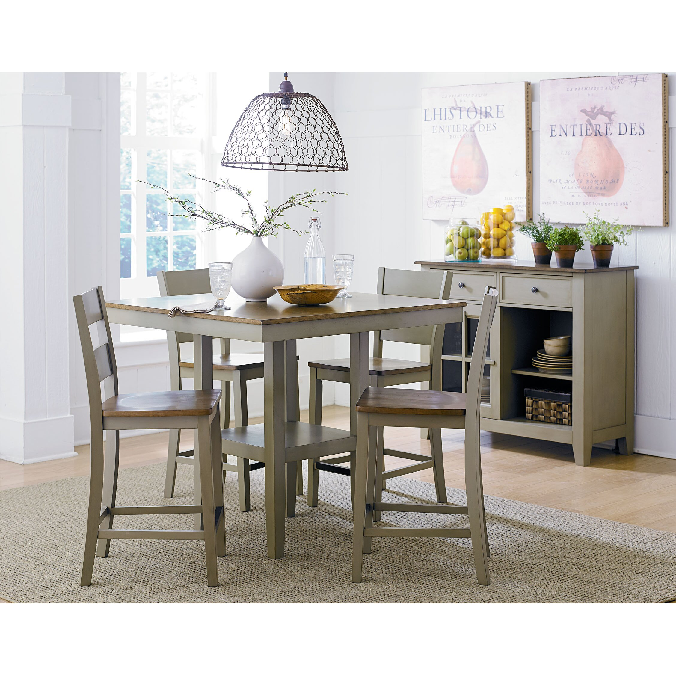 ^ 5 Piece Kitchen & Dining oom Sets You'll Love Wayfair