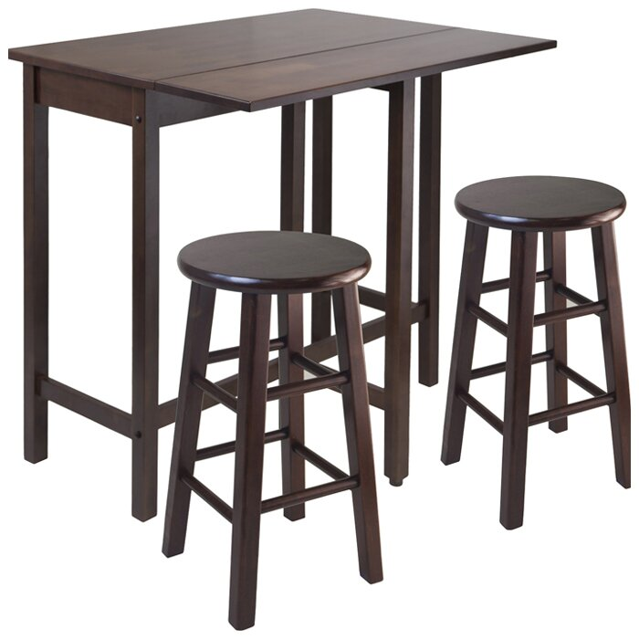 Furniture Bar Furniture ... Rectangle Pub Tables & Bistro Sets Red ...