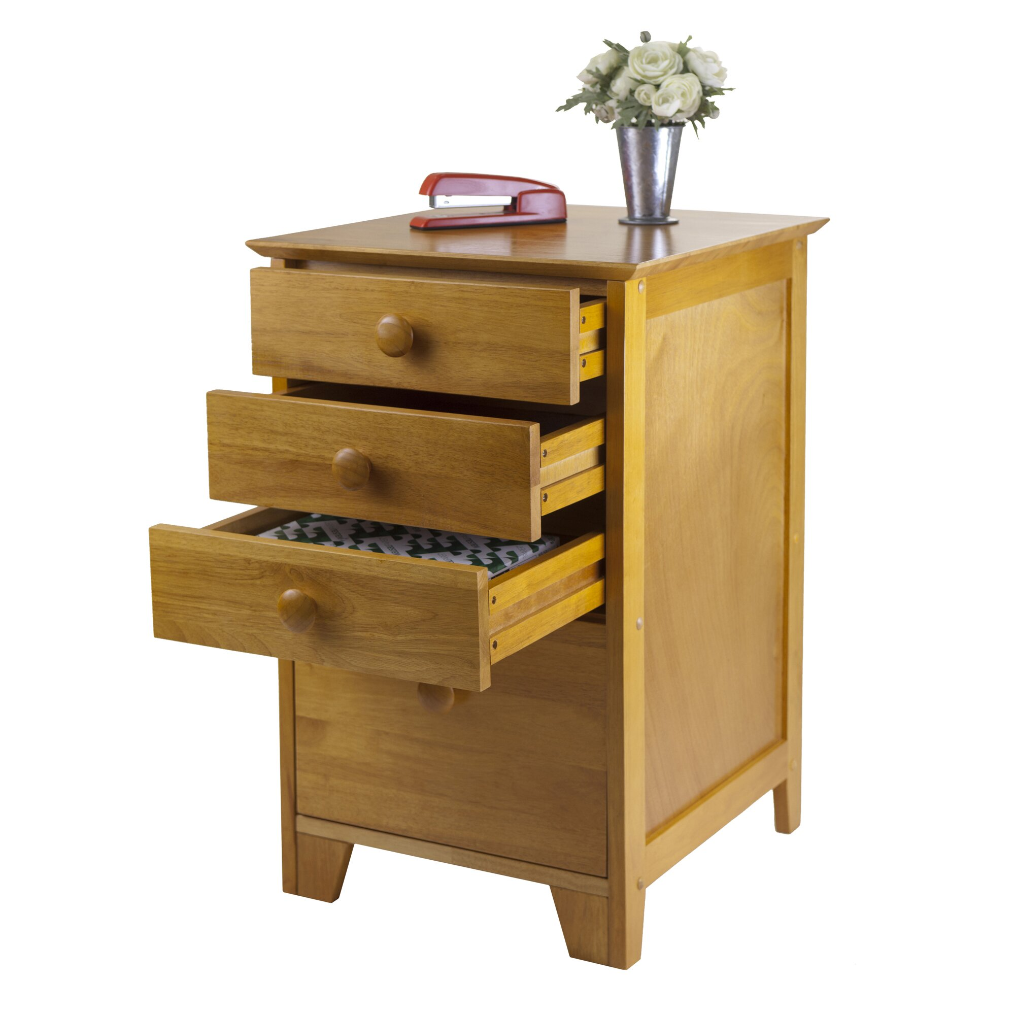 Filing Cabinets For Home Office Red Barrel Studio Hilderbrand 4 Drawer Home Office File Cabinet