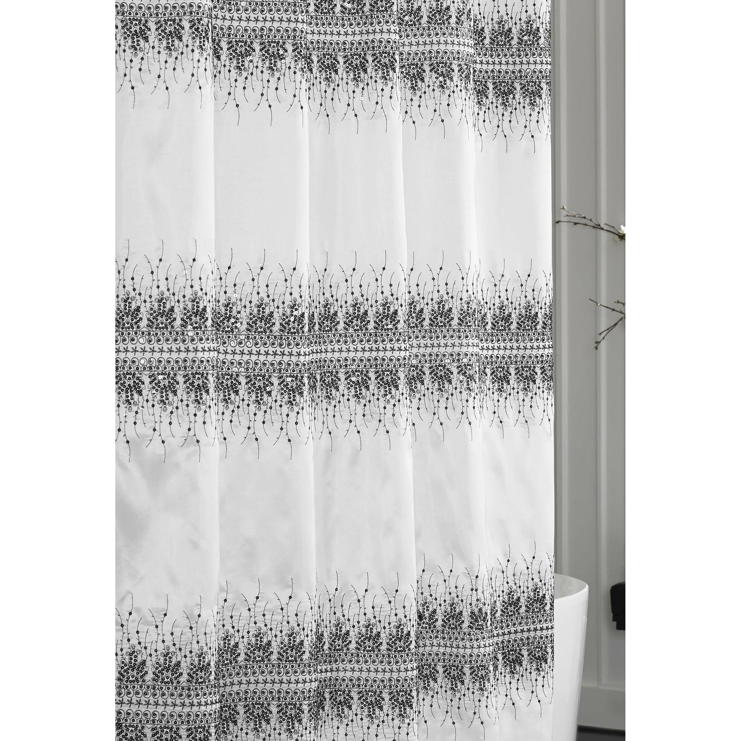 Black and white hello kitty shower curtain - Black And White Hello Kitty Shower Curtain
