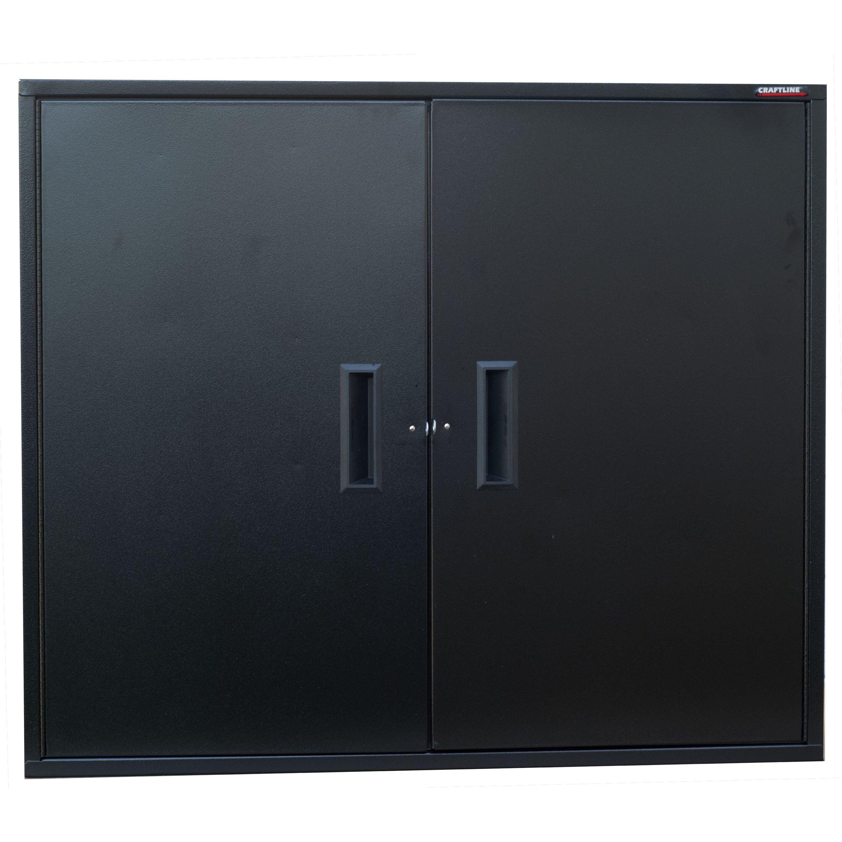 Resin Utility Cabinet Craftline 30 H X 3525 W X 125 D 2 Door Utility Cabinet