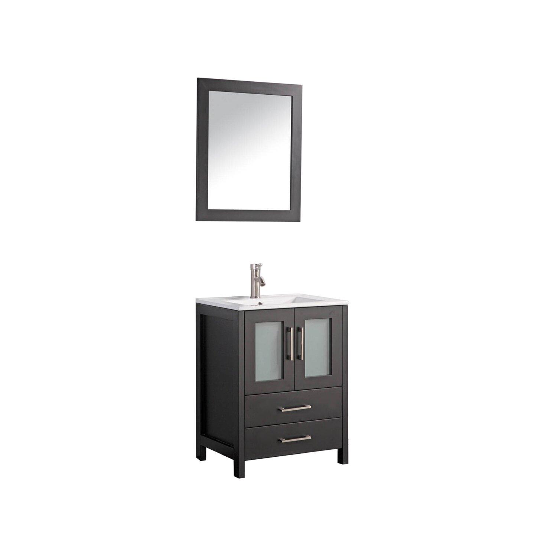 30 Bathroom Cabinet Mtdvanities Argentina 30 Single Sink Bathroom Vanity Set With