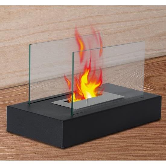 Homcom ethanol fuel fireplace - Estufas electricas efecto llama ...
