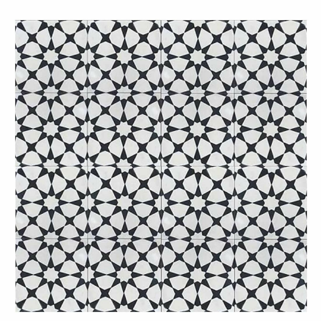 Moroccan Mosaic Tile House Medina 8 Quot X 8 Quot Cement Tile In