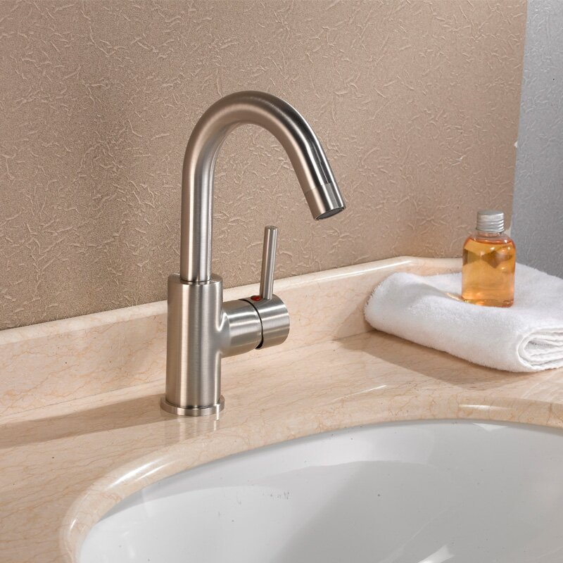 bathroom sink faucets reviews cadell single handle single bathroom faucet amp reviews 16506