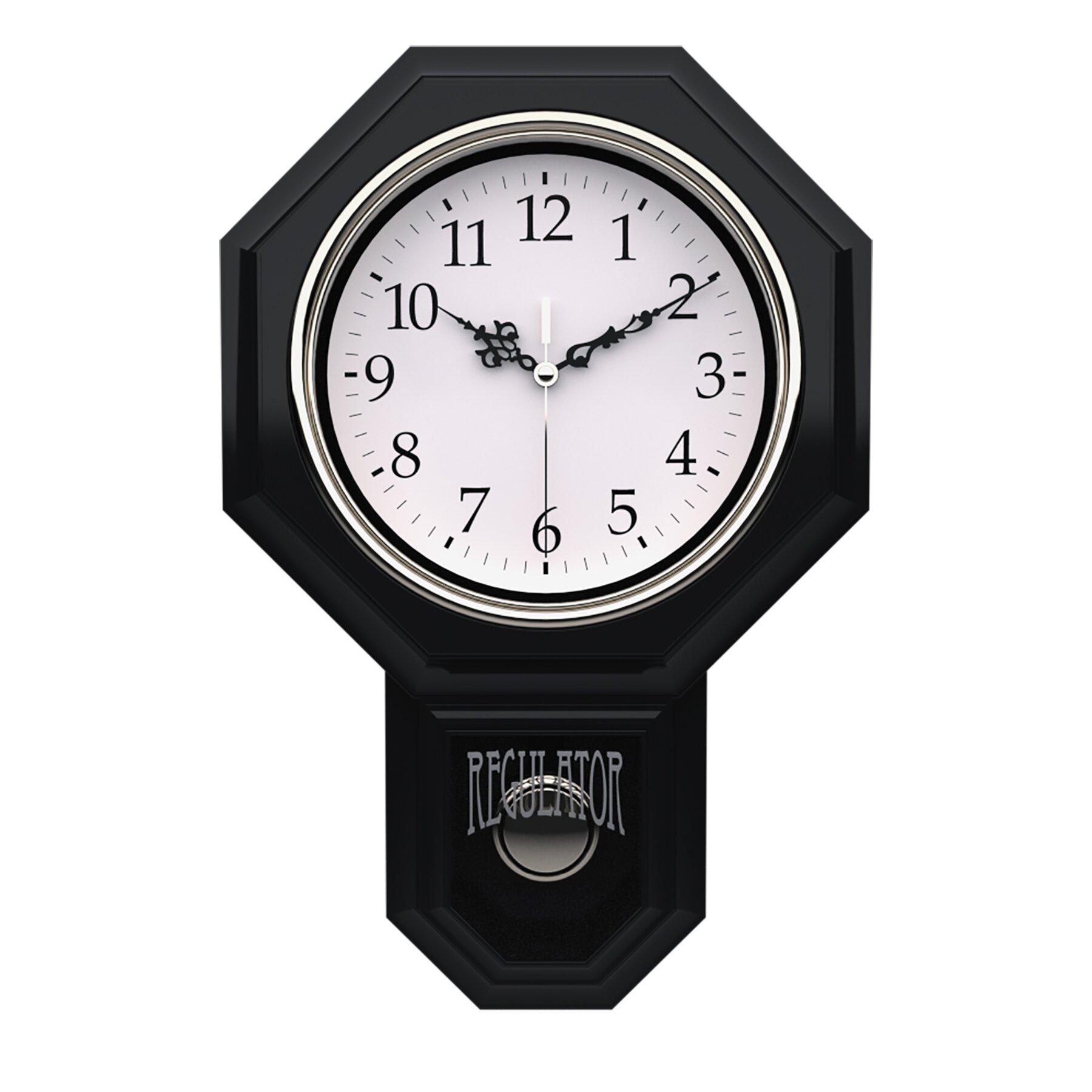 Artistic Products Essex Pendulum Wall Clock Reviews