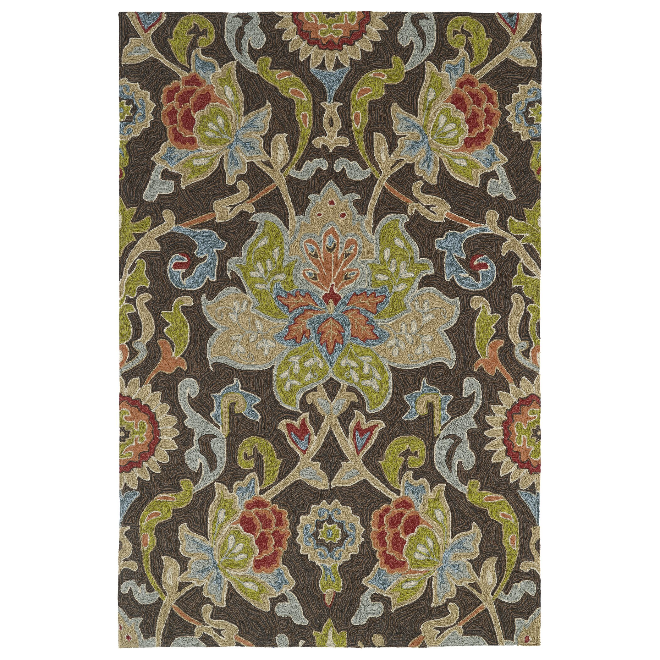 Kaleen Home And Porch Multi Colored Tufted Indoor Outdoor