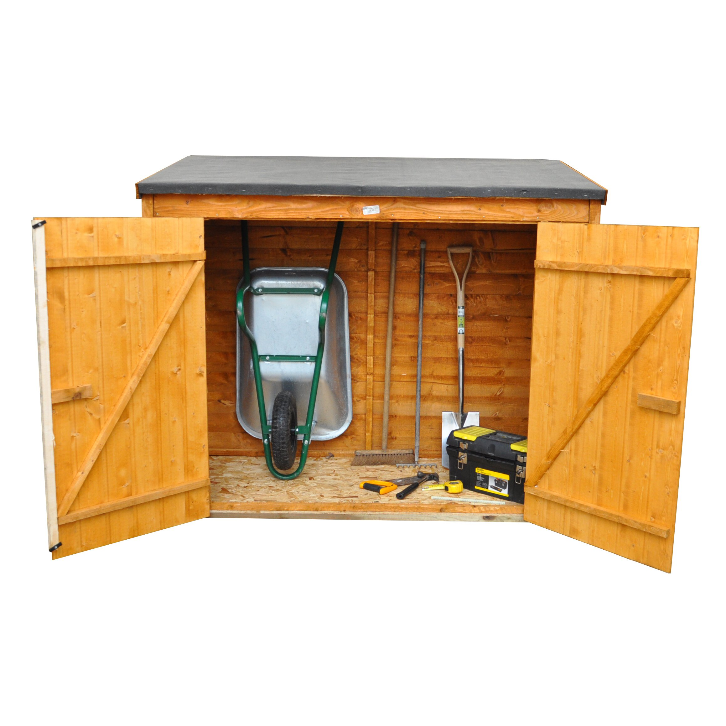 Forest Garden 6ft x 3ft Wooden Tool Shed & Reviews ...