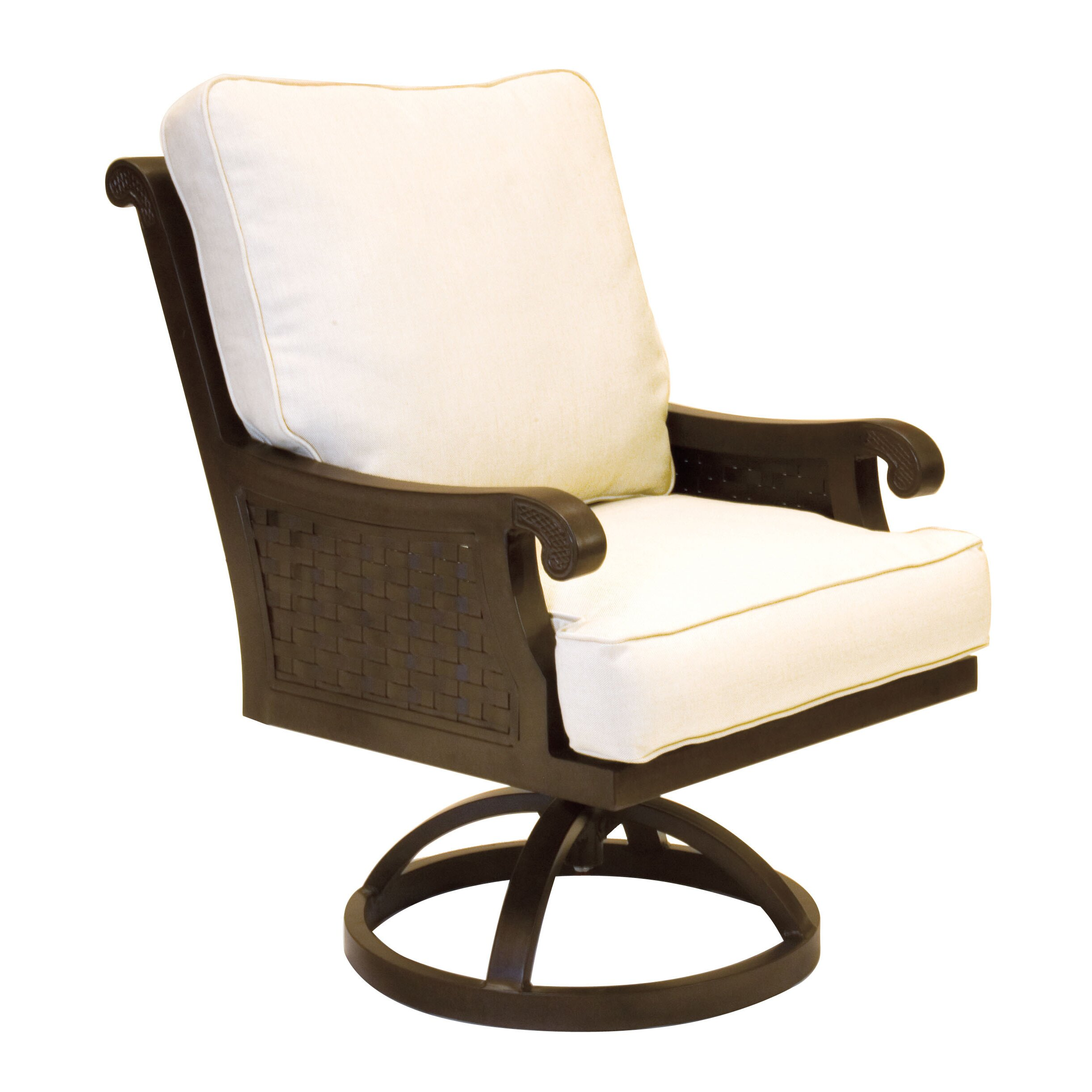 ... Pride Family Brands Jakarta Swivel Chair With Cushion ...