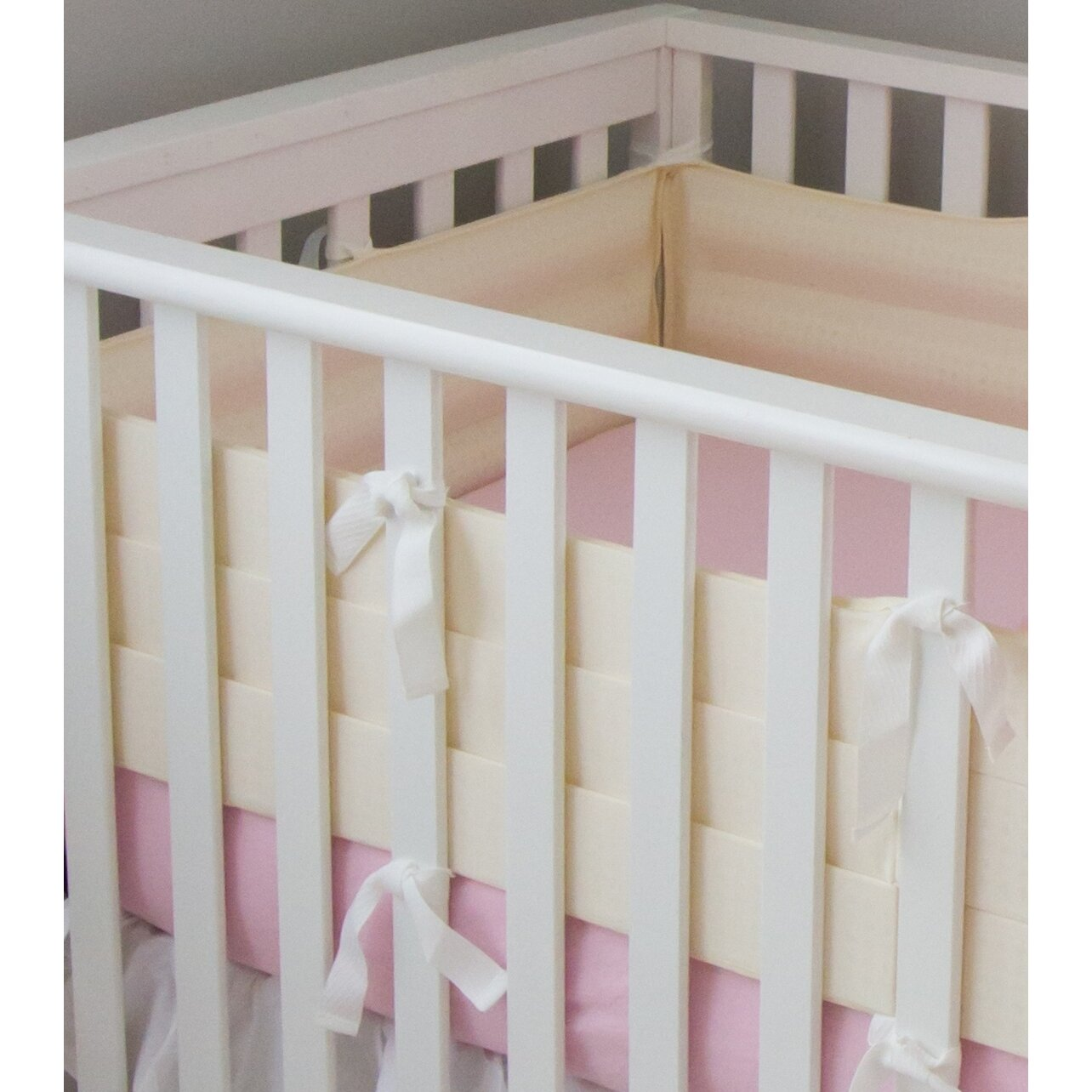 Safest brand of crib for babies - Bitzy Baby Breathable Safe Crib Bumper