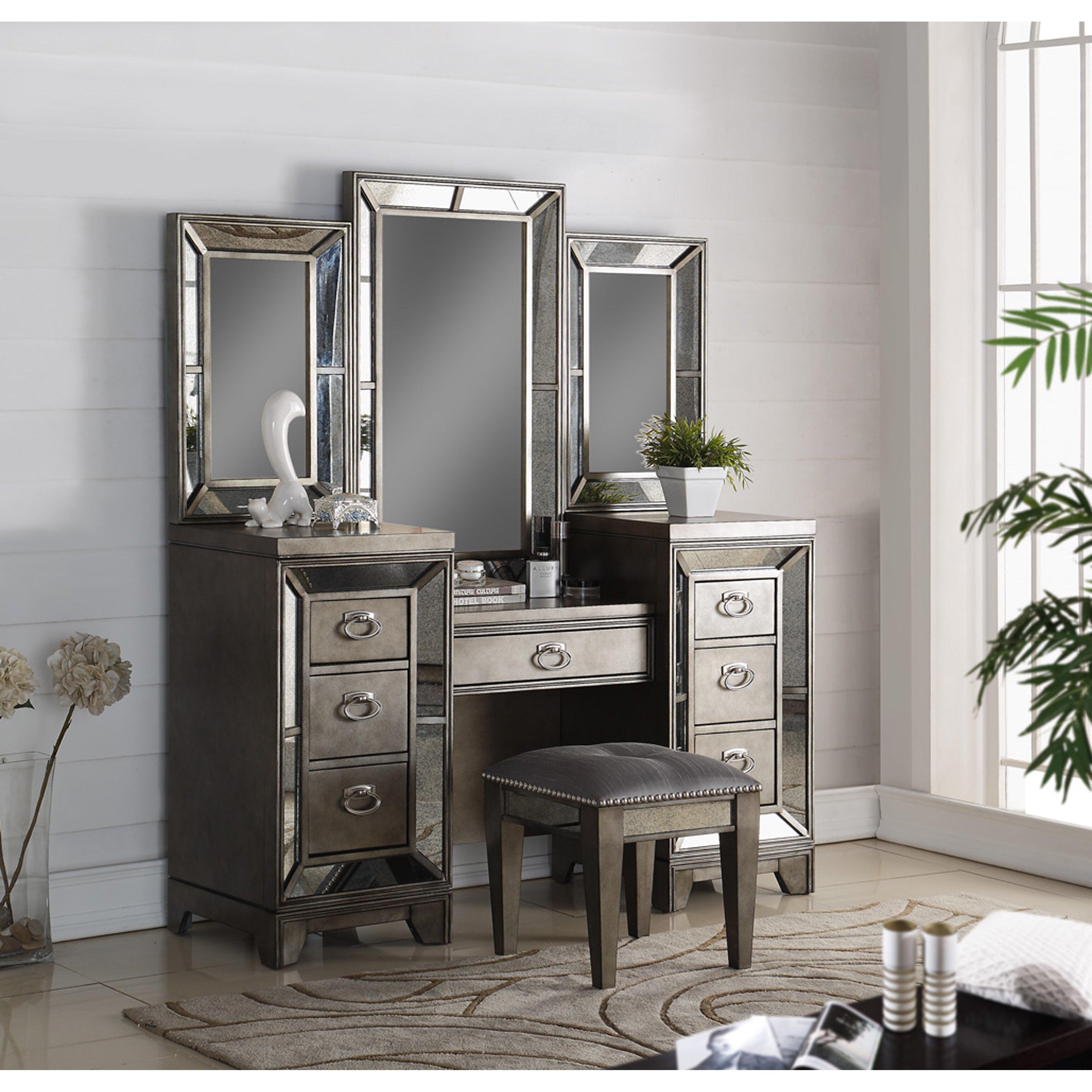 glass bedroom vanity furniture bedroom furniture bedroom makeup vanities avalon furniture glass