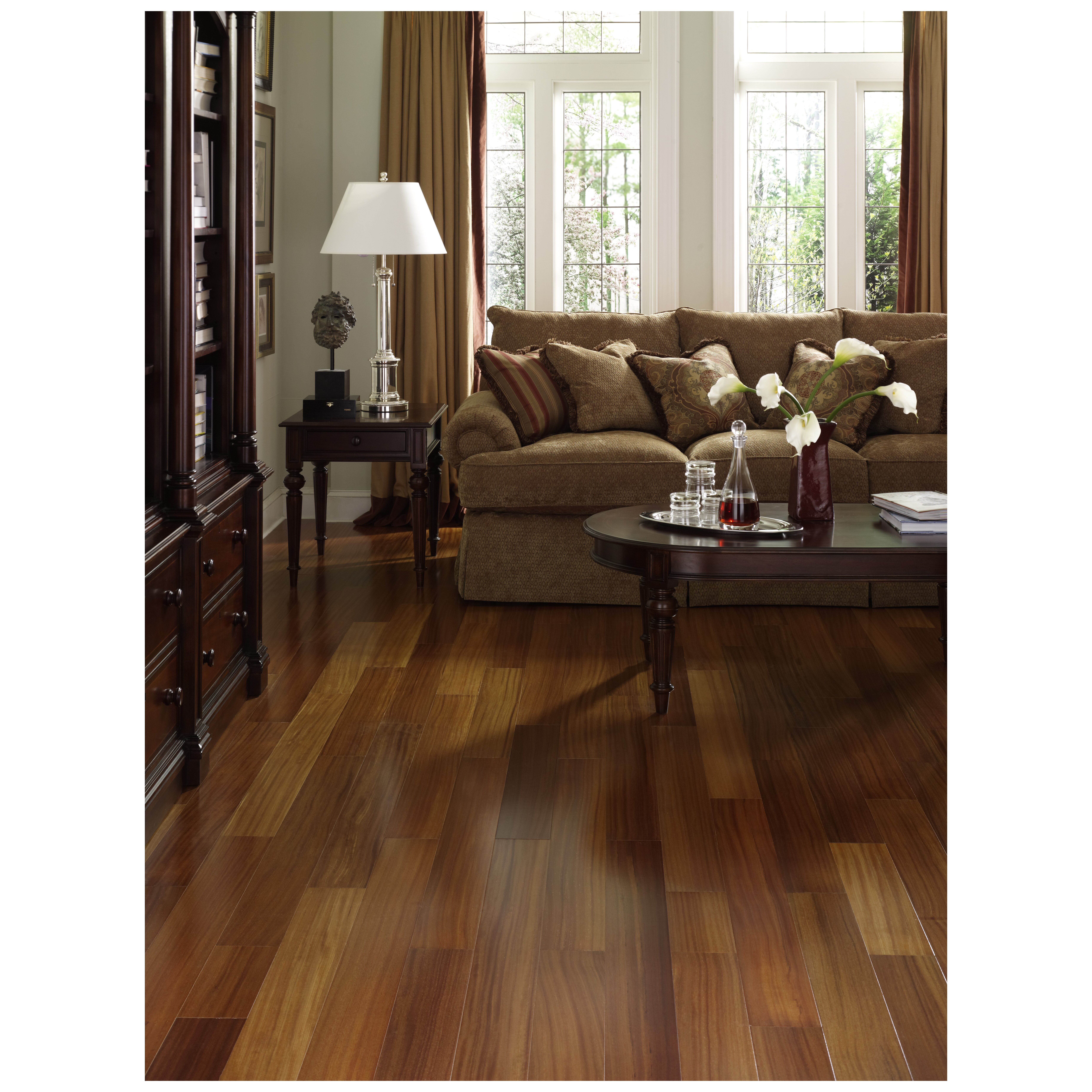 Style Selections Laminate Flooring for flooring i decided to use style selections natural acacia smooth laminate wood planks pictured on the left not a link to the product Style Selections Brazilian Teak Wood Planks Laminate Flooring