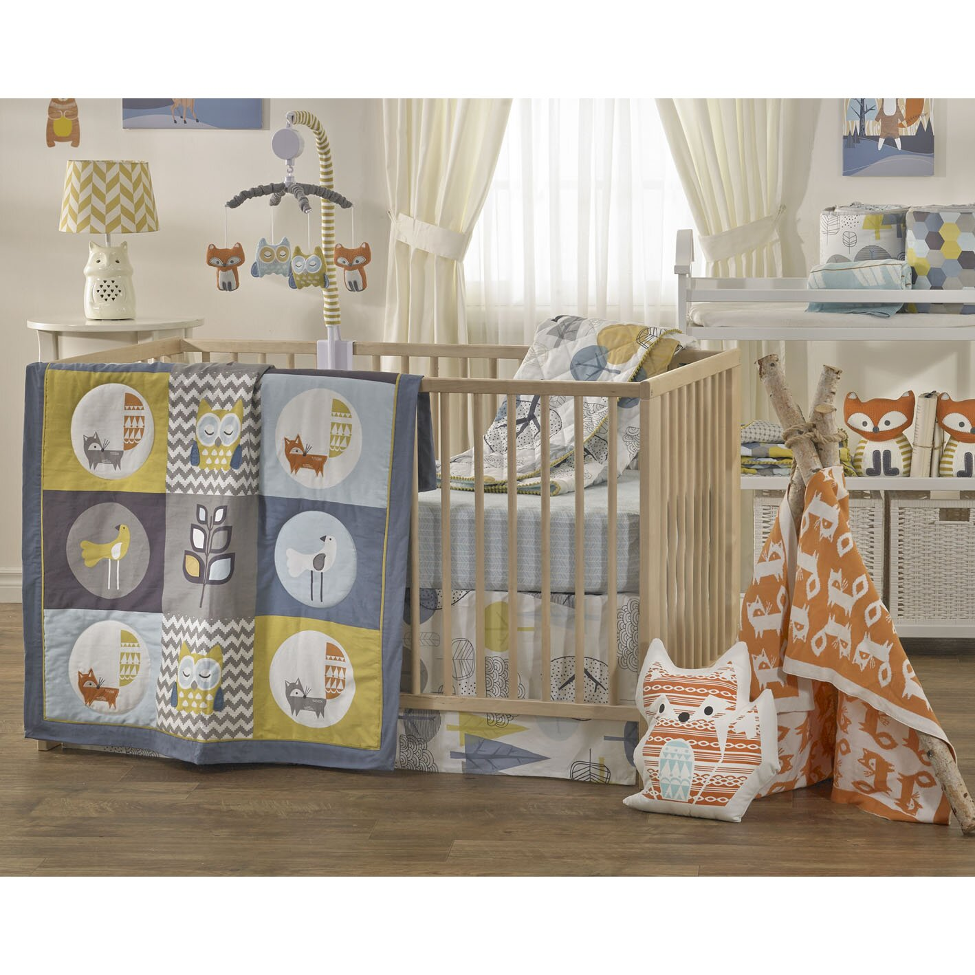 Lolli Living Woods 4 Piece Crib Bedding Set Amp Reviews