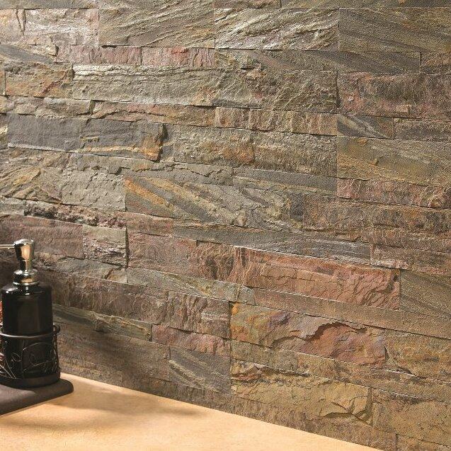 Aspect 6 Quot X 24 Quot Natural Stone Peel Amp Stick Mosaic Tile In