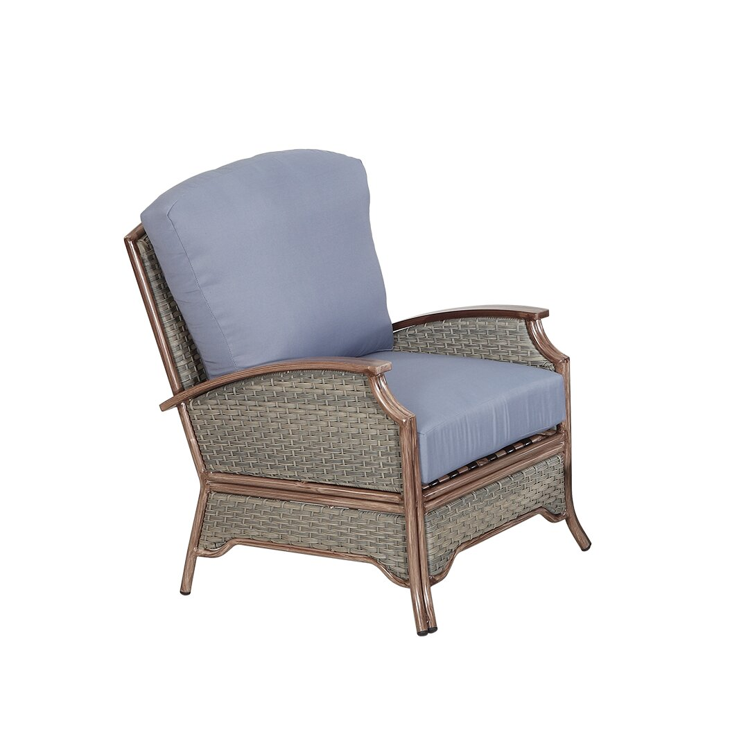 Rattan Outdoor Furniture Pompano 5 Piece Deep Seating Group Wayfair .