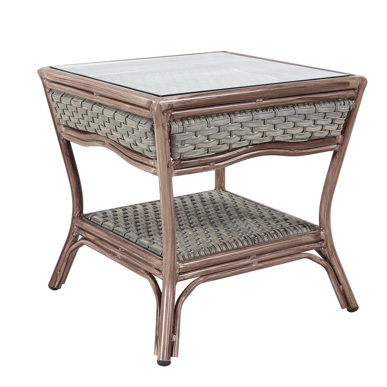 rattan outdoor furniture pompano 5 piece conversation set