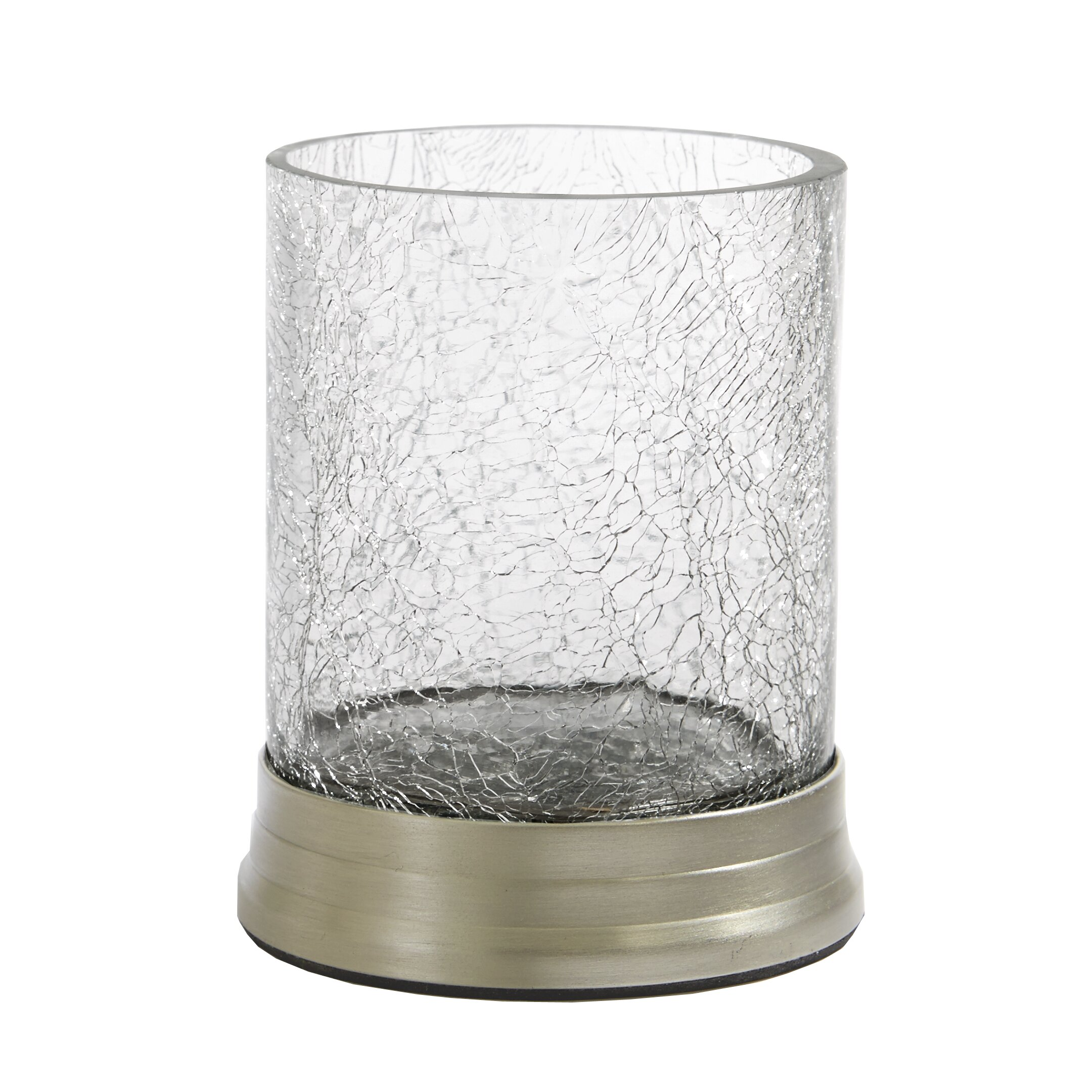 glass bathroom accessories sets. Paradigm Trends Heirloom 5 Piece Bathroom Accessory Set Reviews  Crackle Glass Accessories dact us