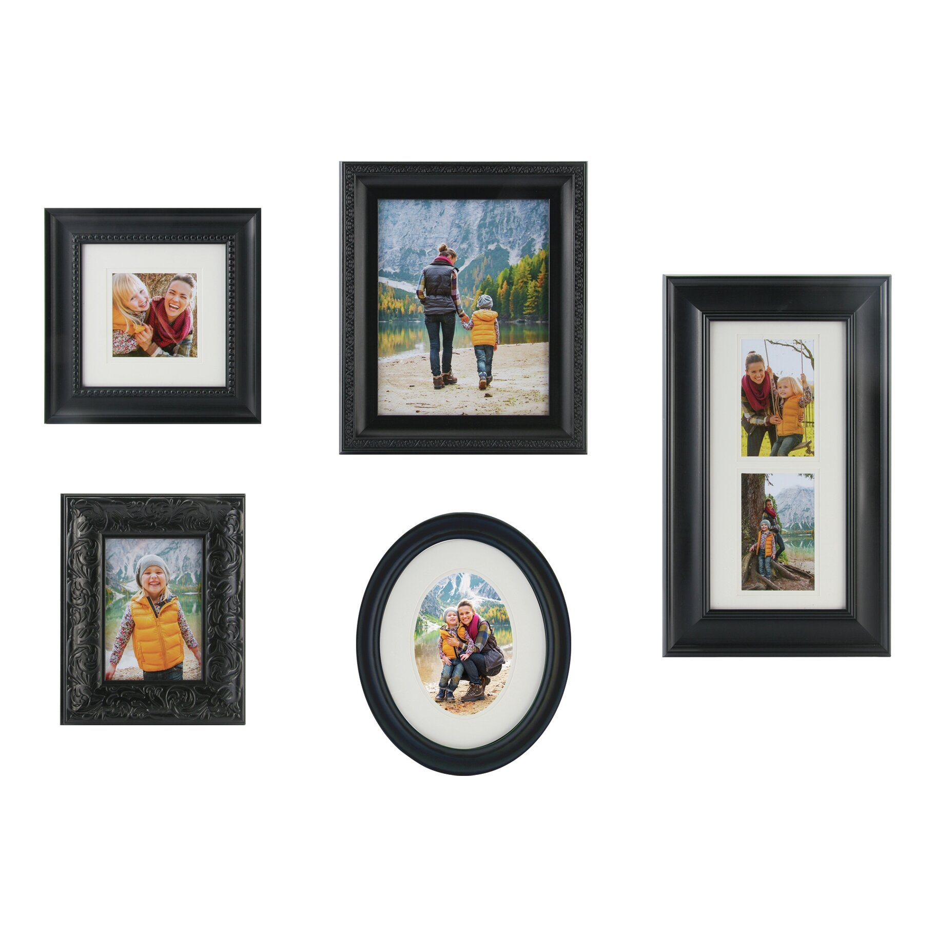 Nielsenbainbridge Gallery Solutions 5 Piece Picture Frame