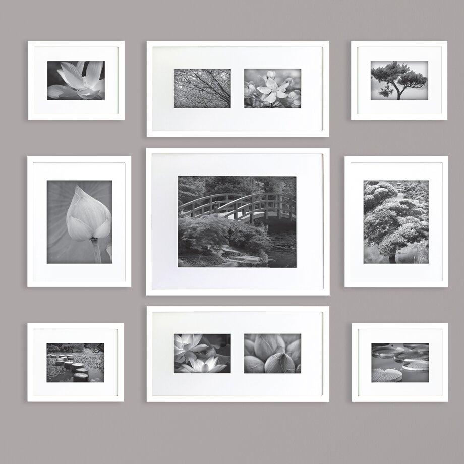 nielsen bainbridge gallery perfect 9 piece picture frame set