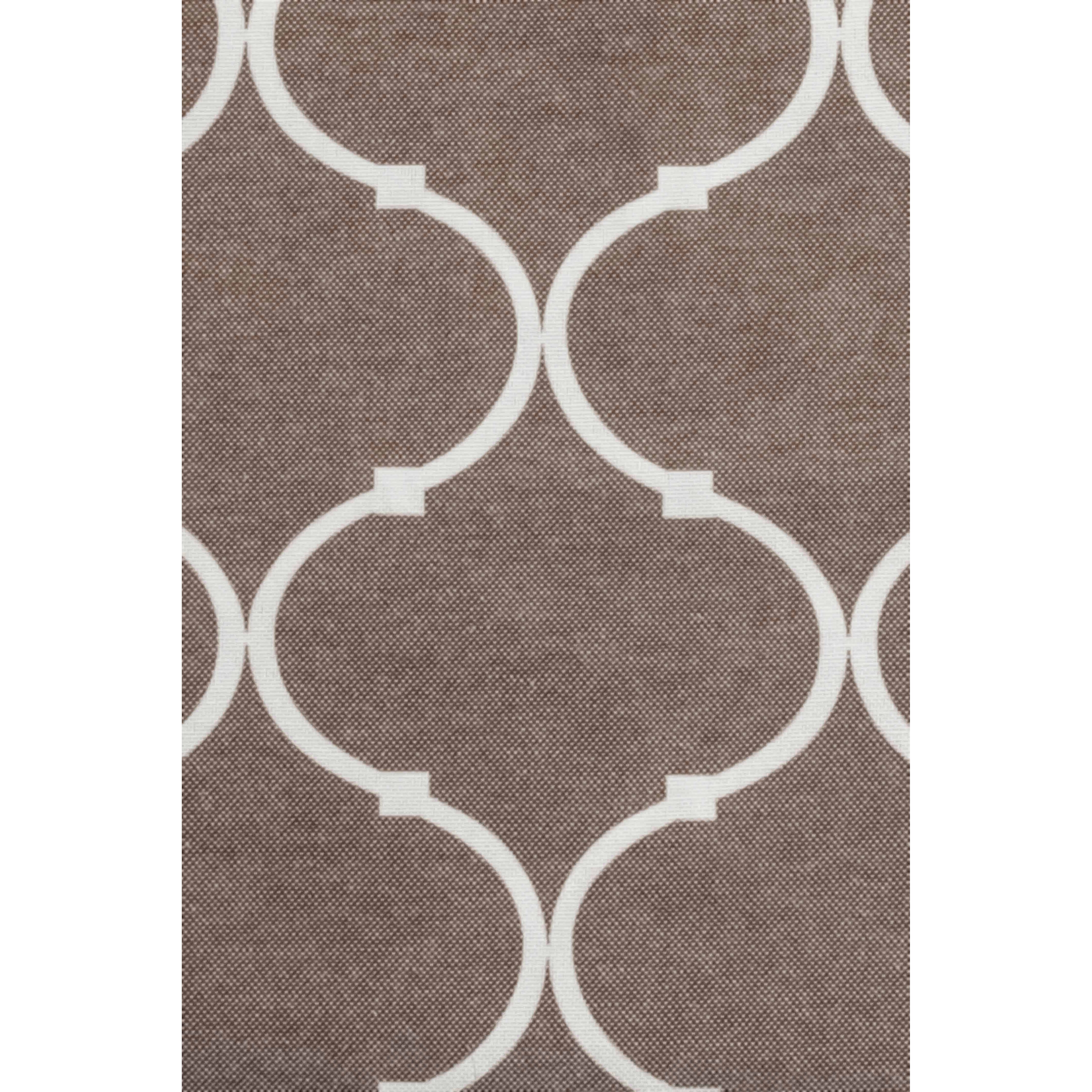 Moroccan tile pattern curtains - Crover Moroccan Trellis Curtain Panels