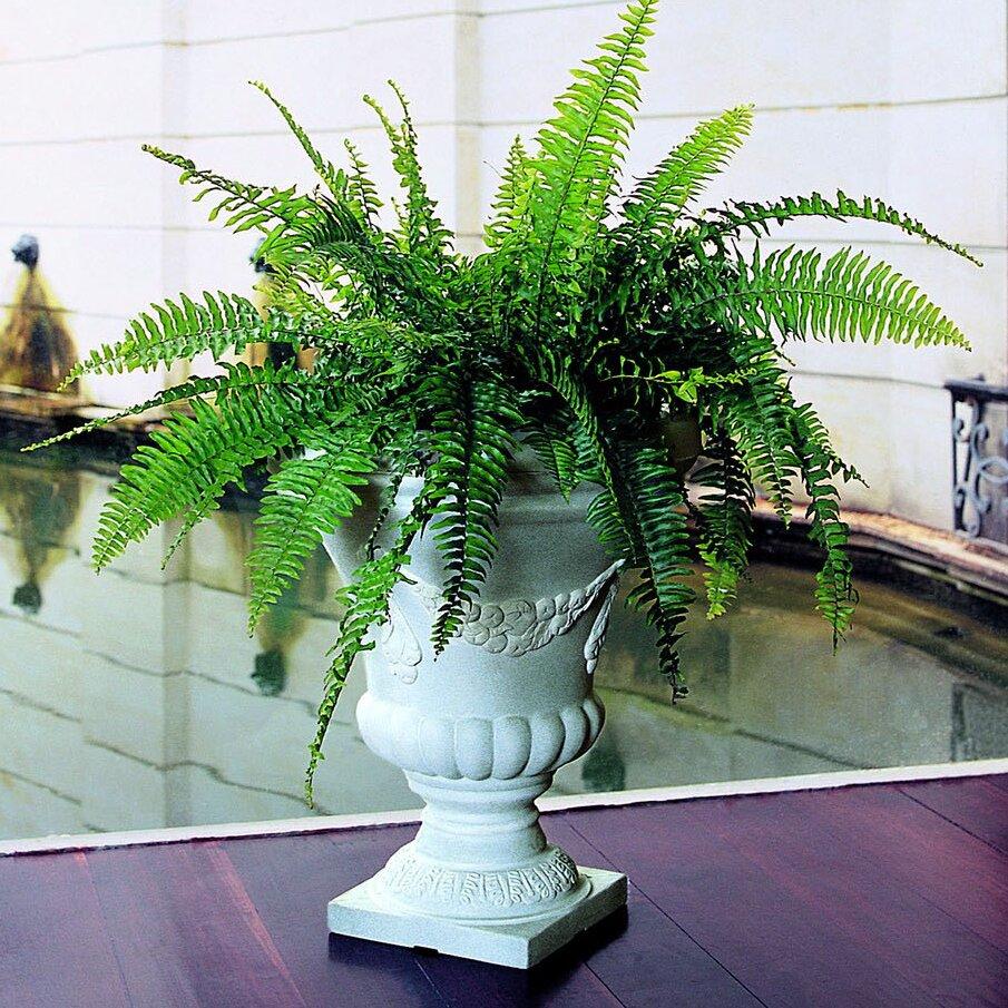 Crescent Garden Festonada Plastic Urn Planter Wayfair
