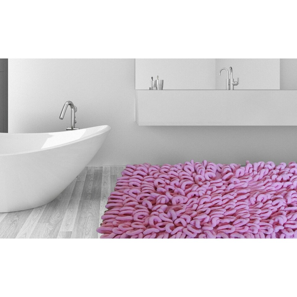 Thick Bathroom Rugs Affinity Linens Micro Chenille Thick And High Loop Bath Rug