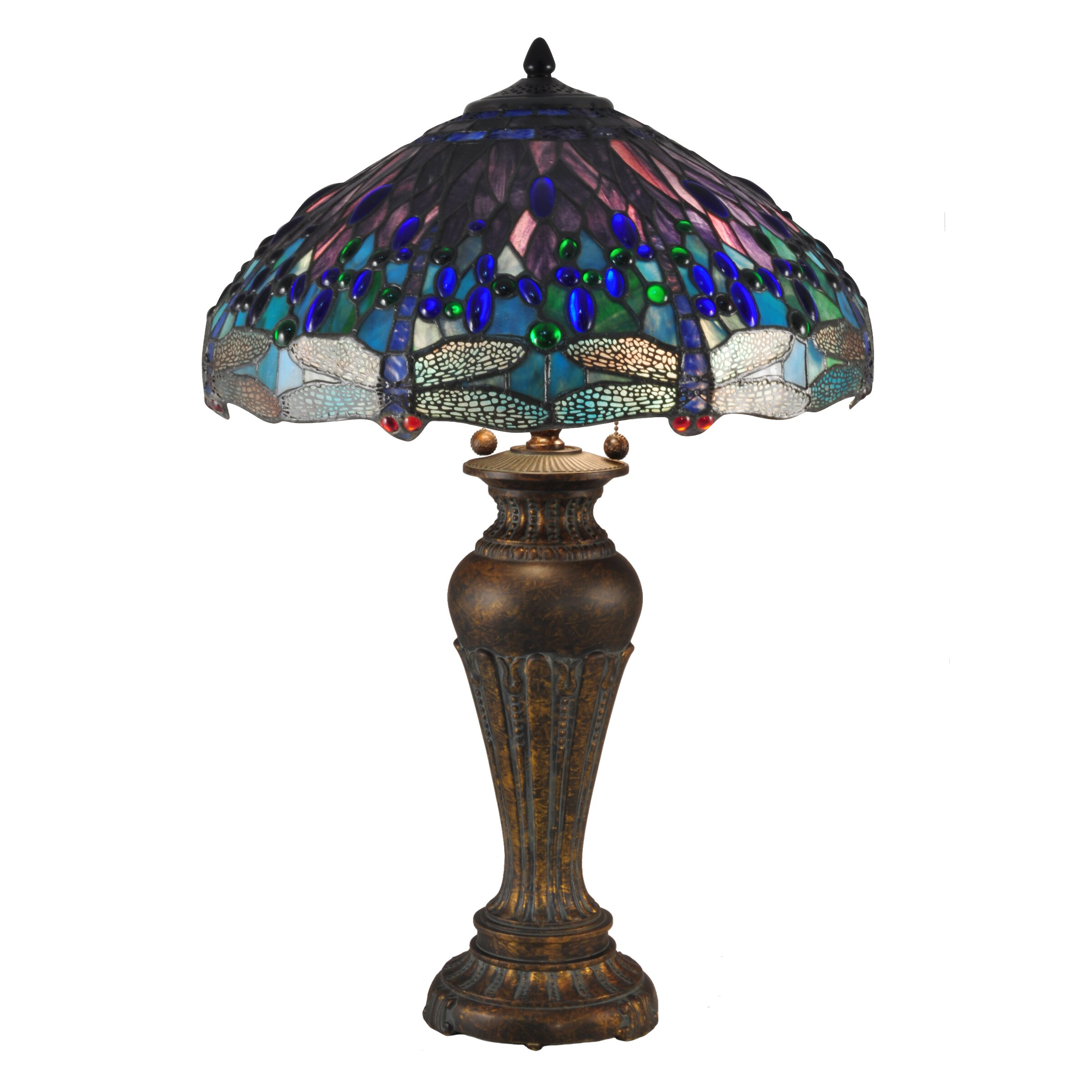 Dragonfly bathroom decor - Dale Tiffany Dragonfly 28 5 Quot Table Lamp Wayfair