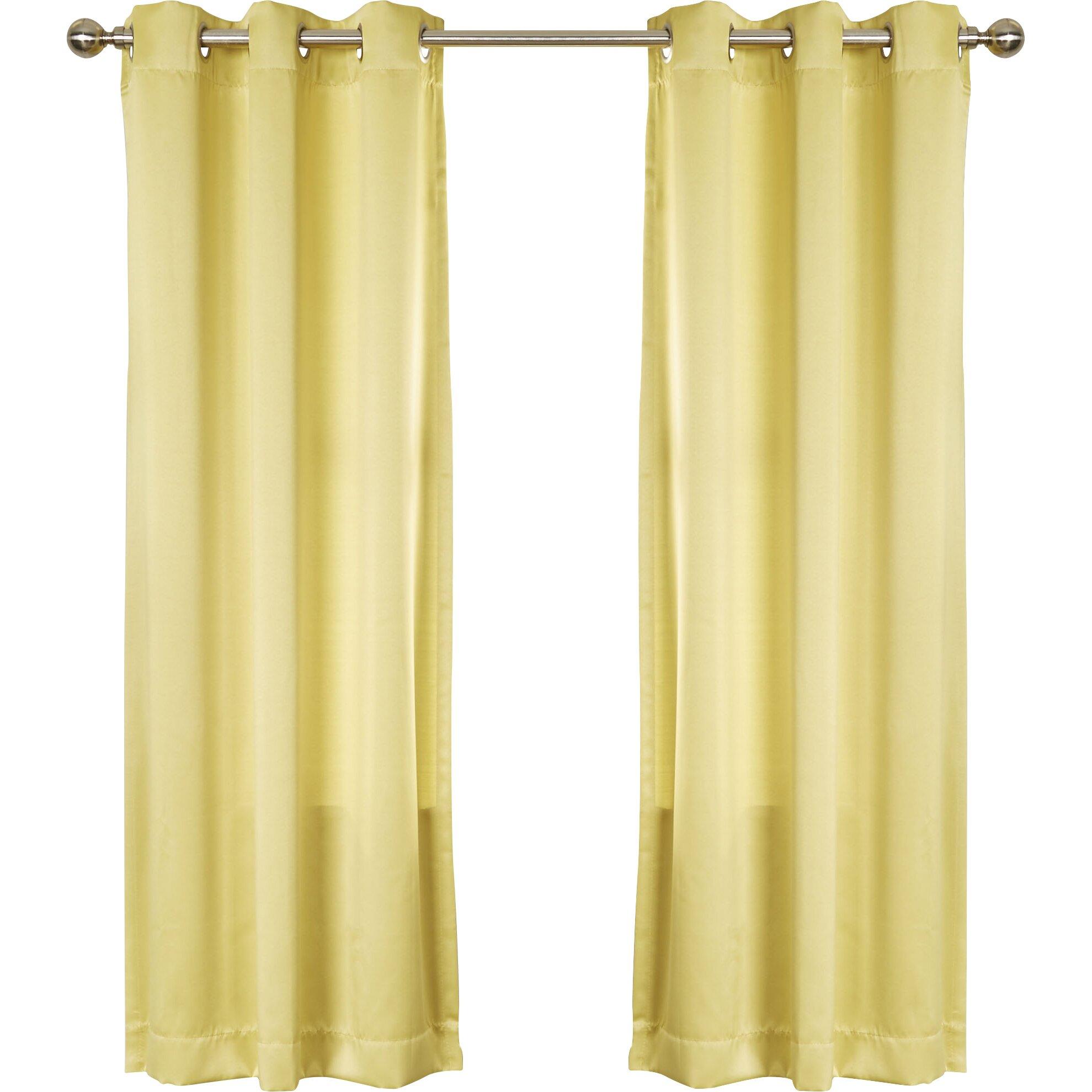 Wayfair Basics Wayfair Basics Grommet Single Curtain Panel