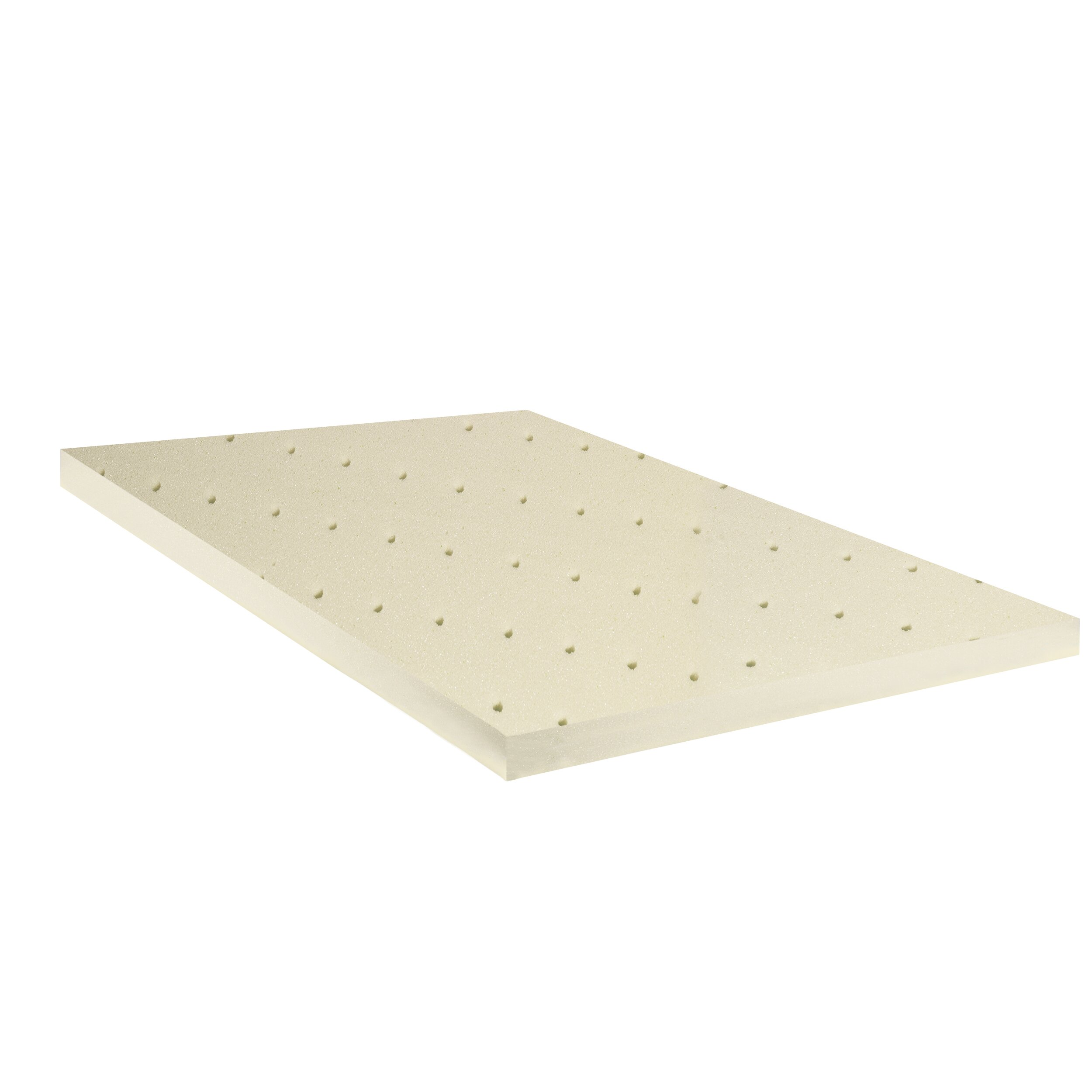 Spinal Solution High Density Foam Mattress Topper with