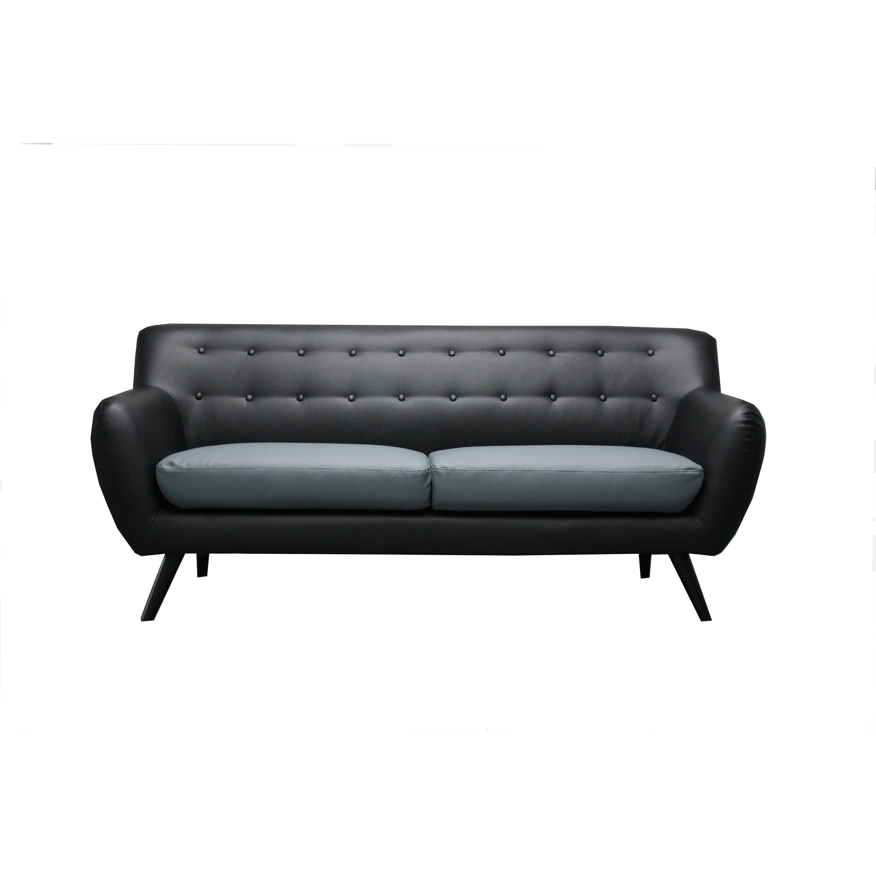 Madison Home USA Mid Century Modern Tufted Sofa. Madison Home USA Mid Century Modern Tufted Sofa   Reviews   Wayfair