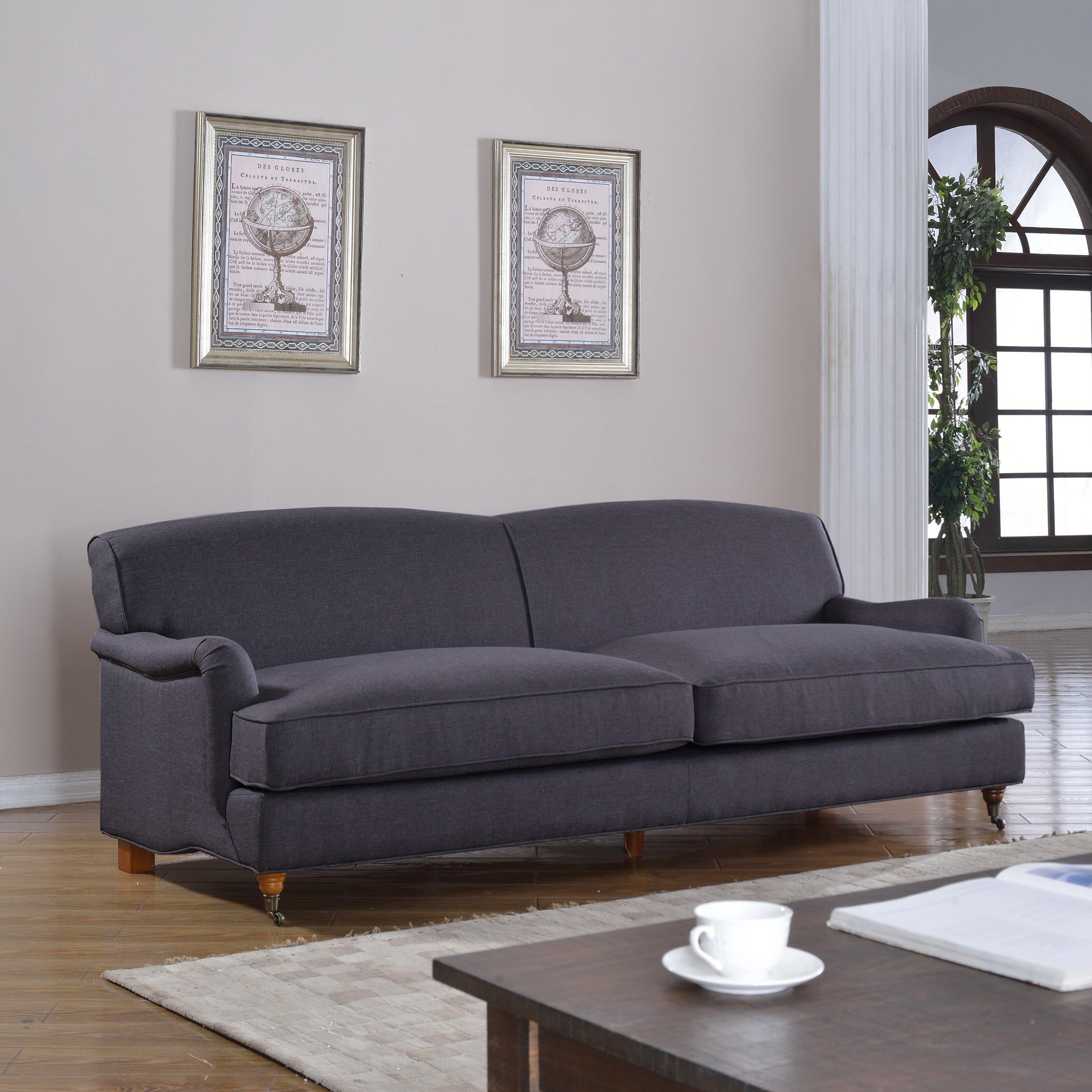 Mid Century Modern Sofas: Madison Home USA Mid-Century Modern Large Sofa With
