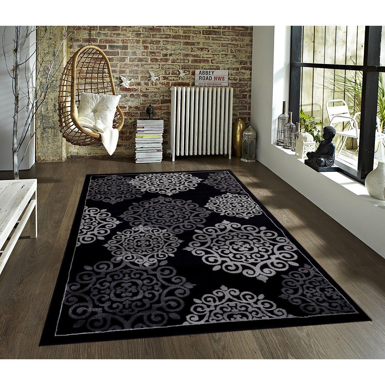 persianrugs modern black area rug. black persian rug  roselawnlutheran