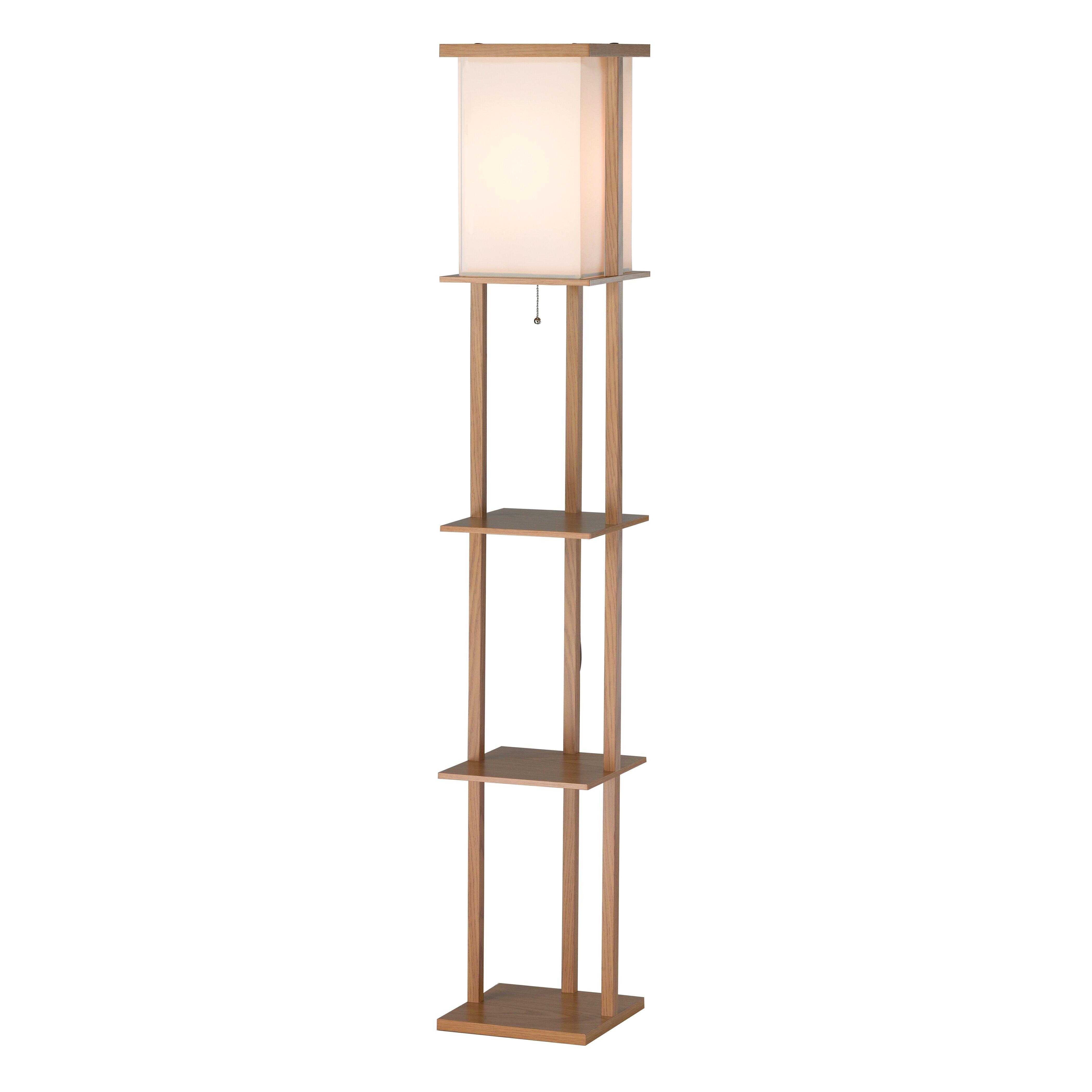 "Adesso Barbery 63"" Column Floor Lamp & Reviews | Wayfair"