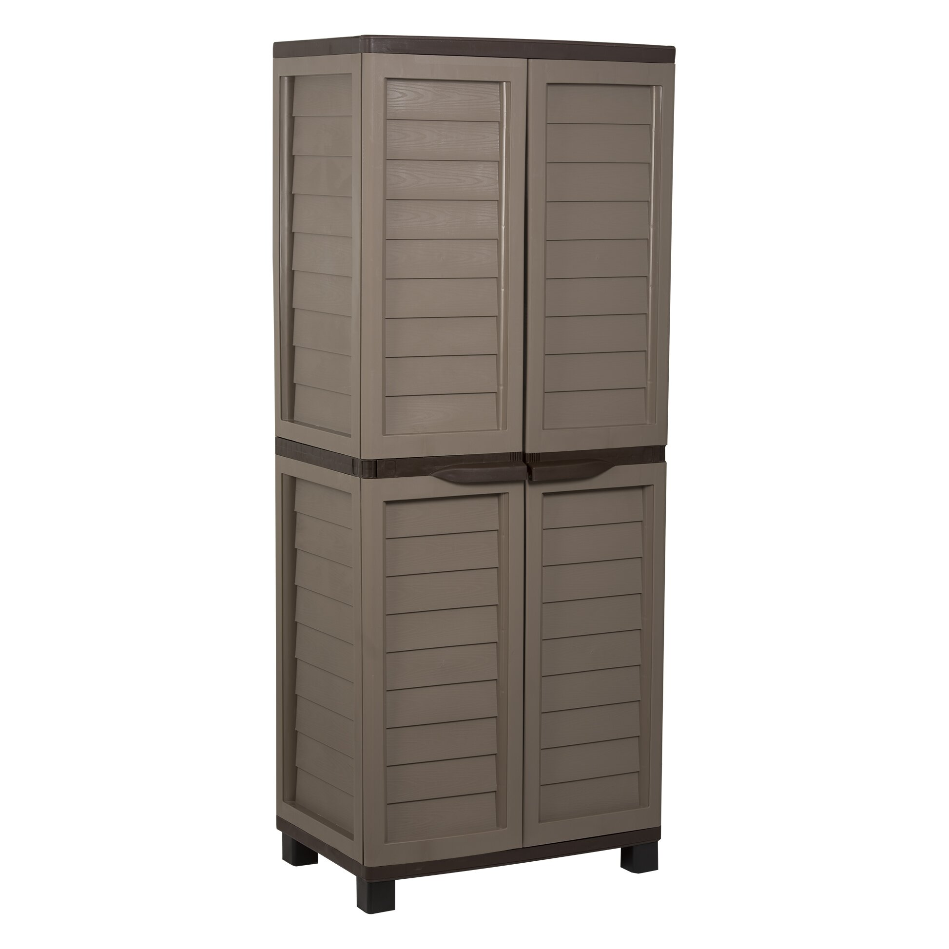 Resin Utility Cabinet Starplast 736 X 295 X 207 Storage Cabinet Reviews Wayfair