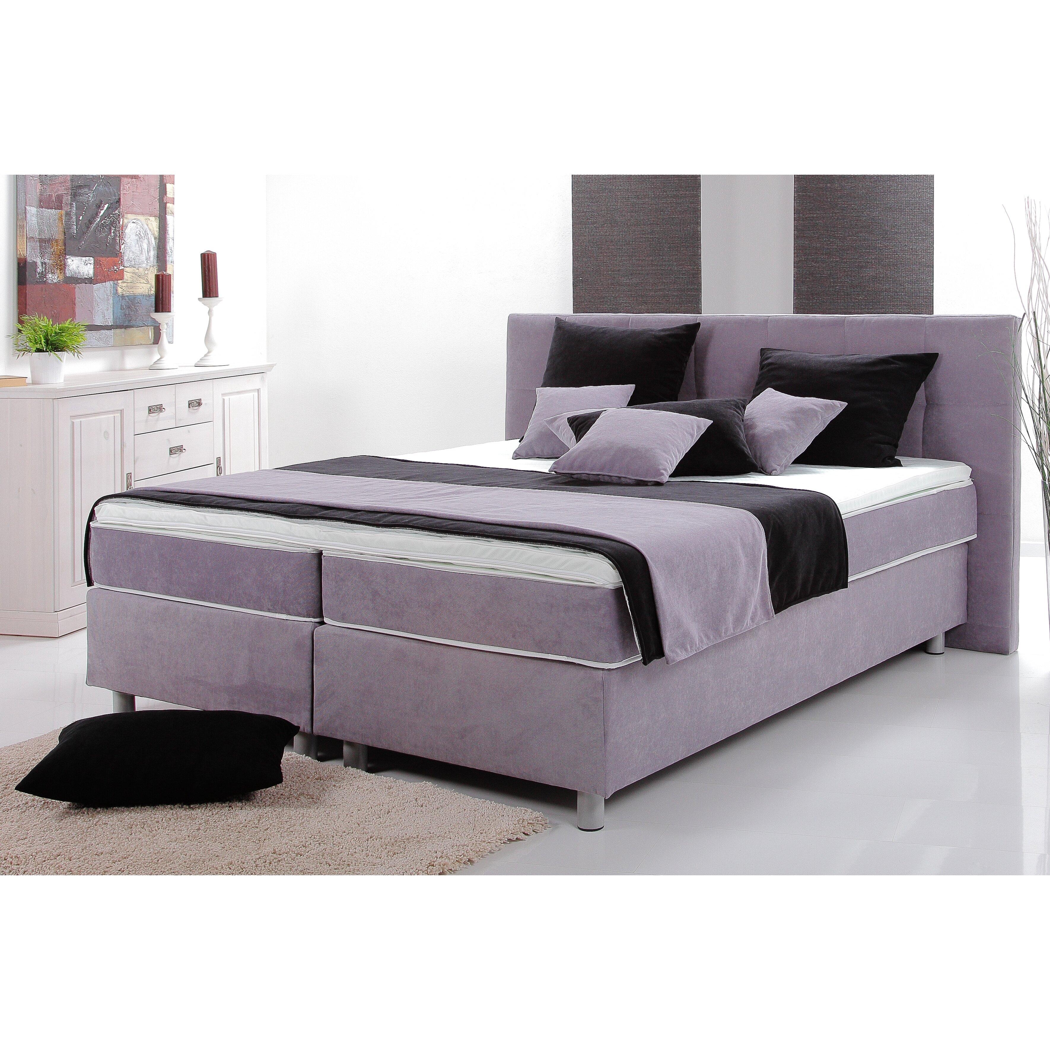 breckle boxspringbett miami mit topper bewertungen. Black Bedroom Furniture Sets. Home Design Ideas