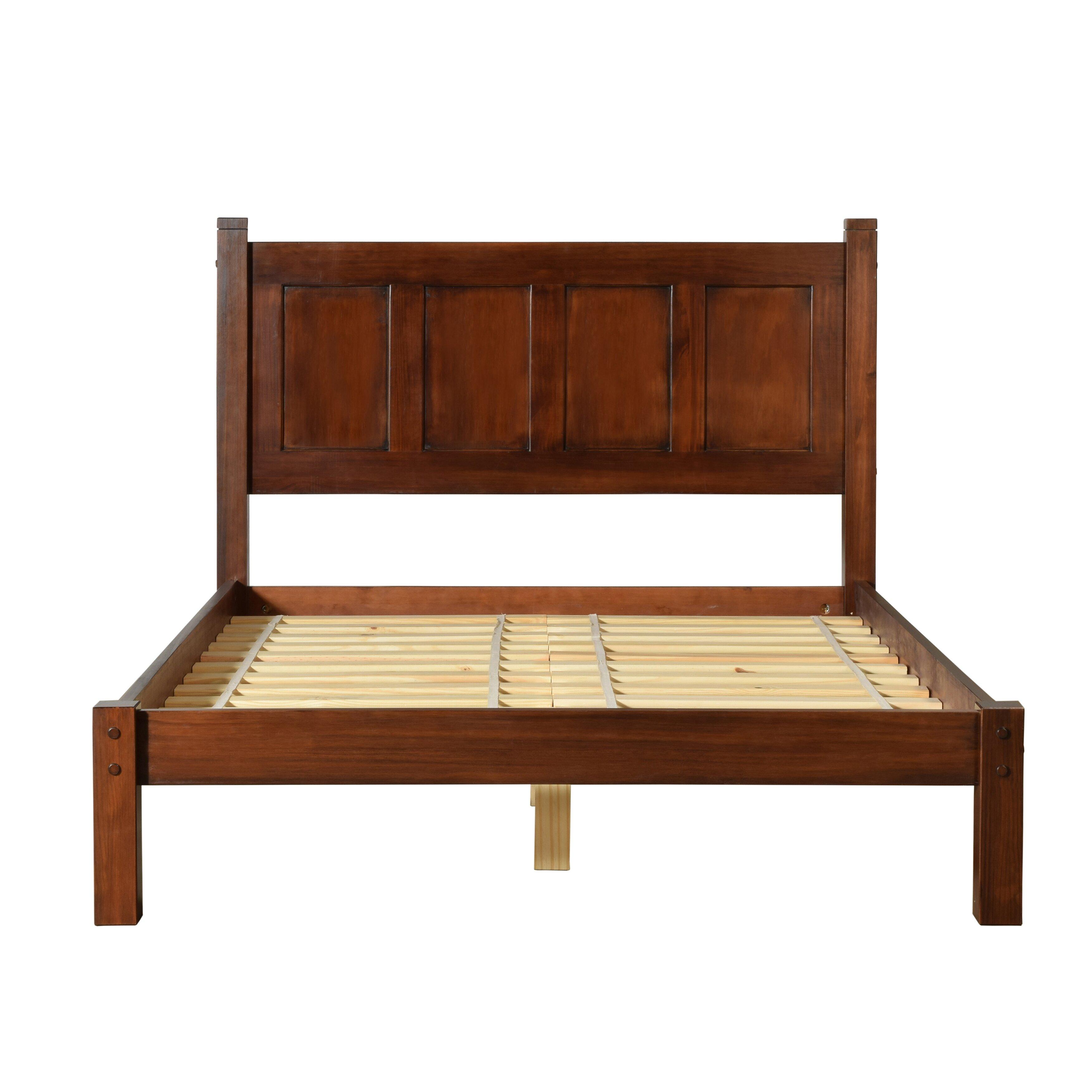 Shaker Bedroom Furniture Grain Wood Furniture Shaker Platform Bed Reviews Wayfair