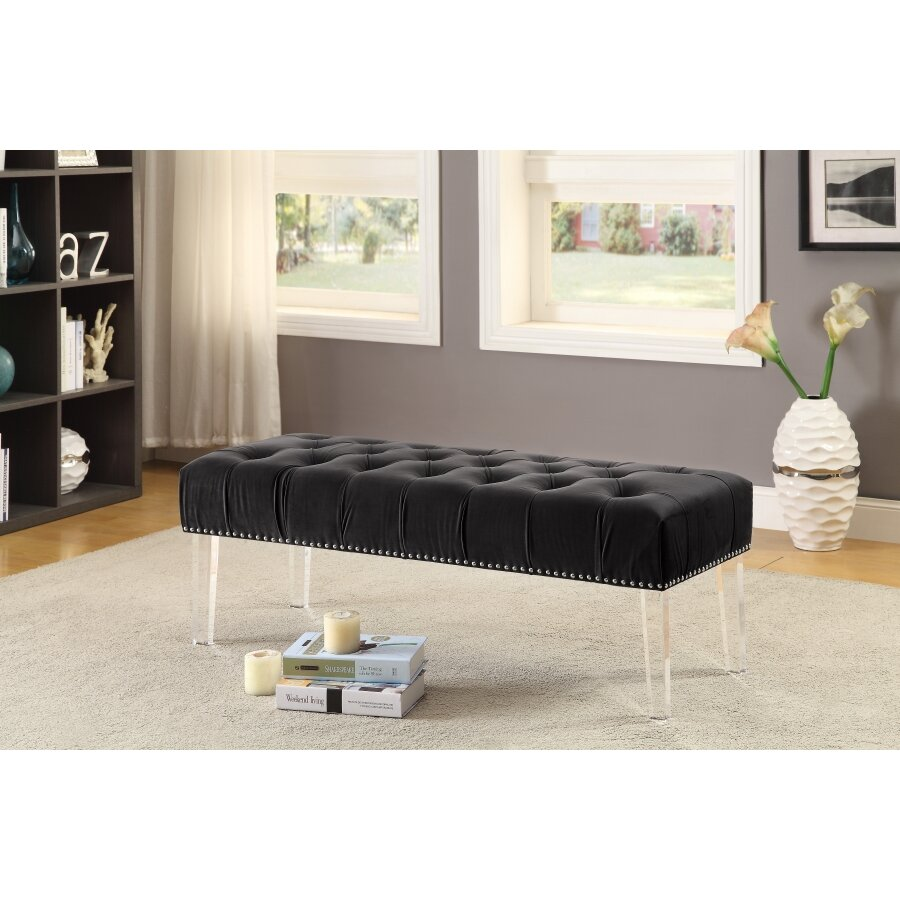 Meridian furniture usa celine upholstered bench reviews for J furniture usa reviews