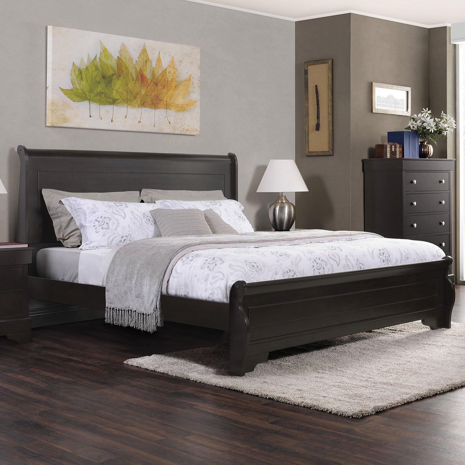 Manhattan Bedroom Furniture Domus Vita Design Manhattan Panel Bed Reviews Wayfair